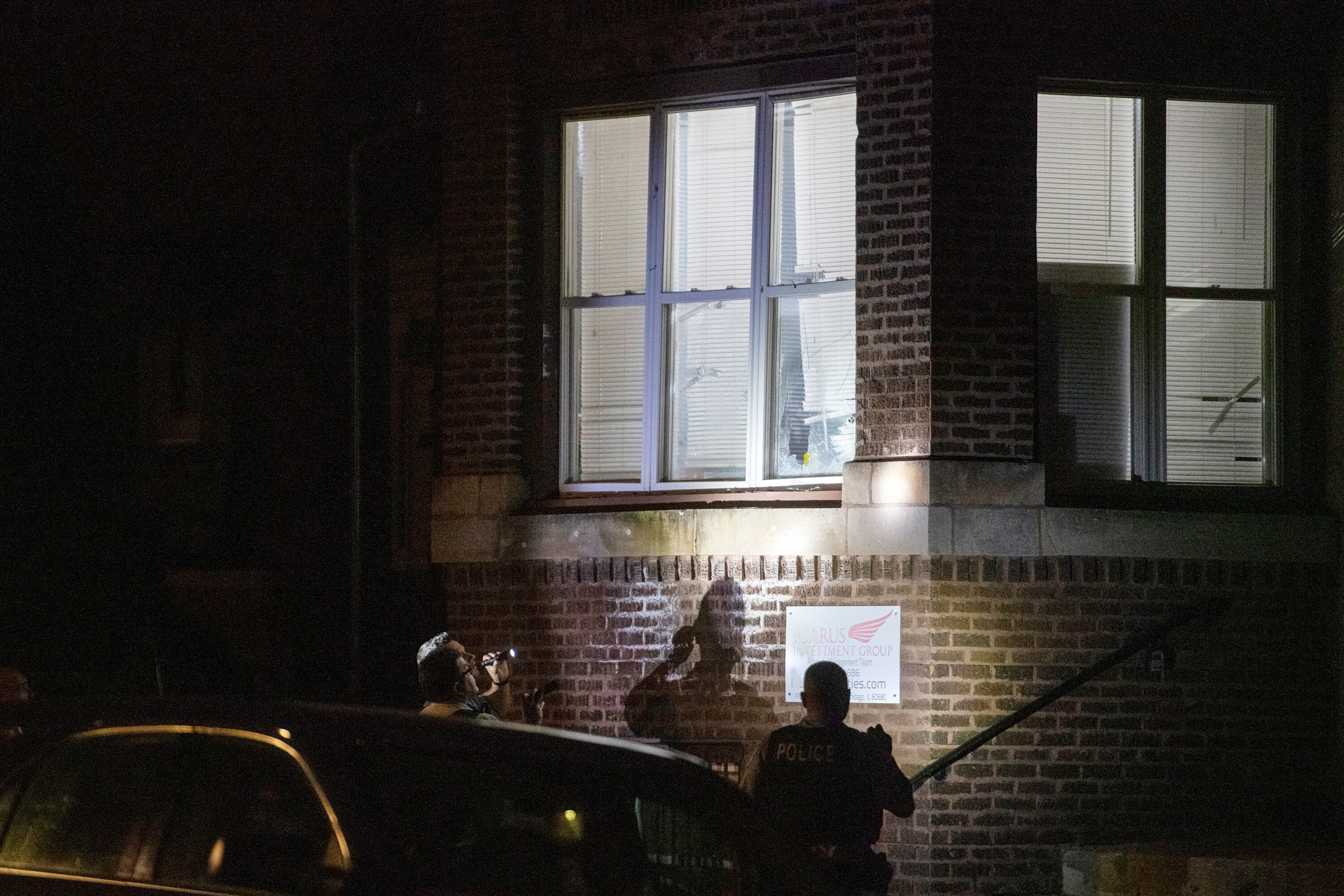 At least 8 children were shot, one fatally, over the weekend in Chicago