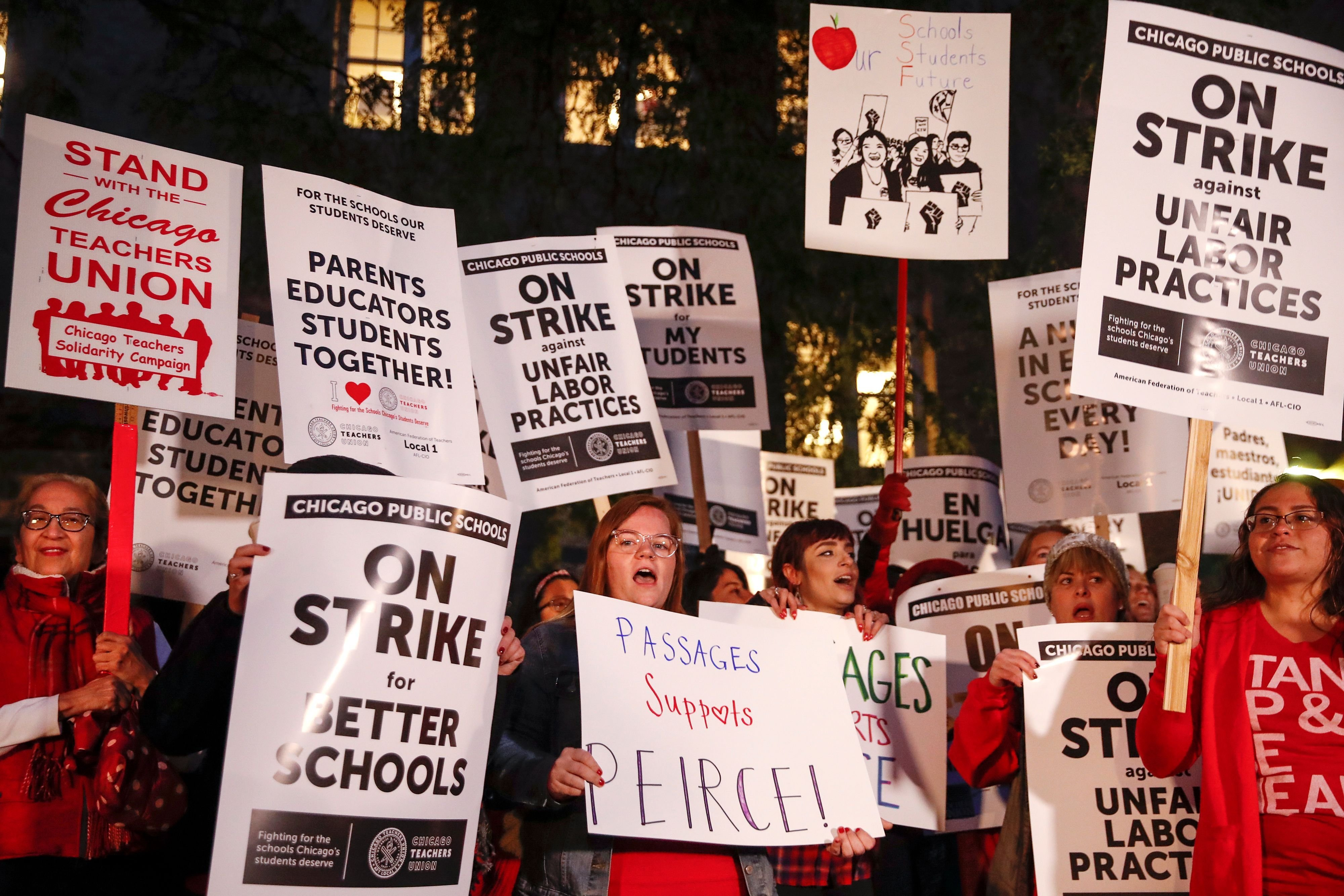 Chicago's teacher strike heads into another week, with no end in sight. Here's what's at stake