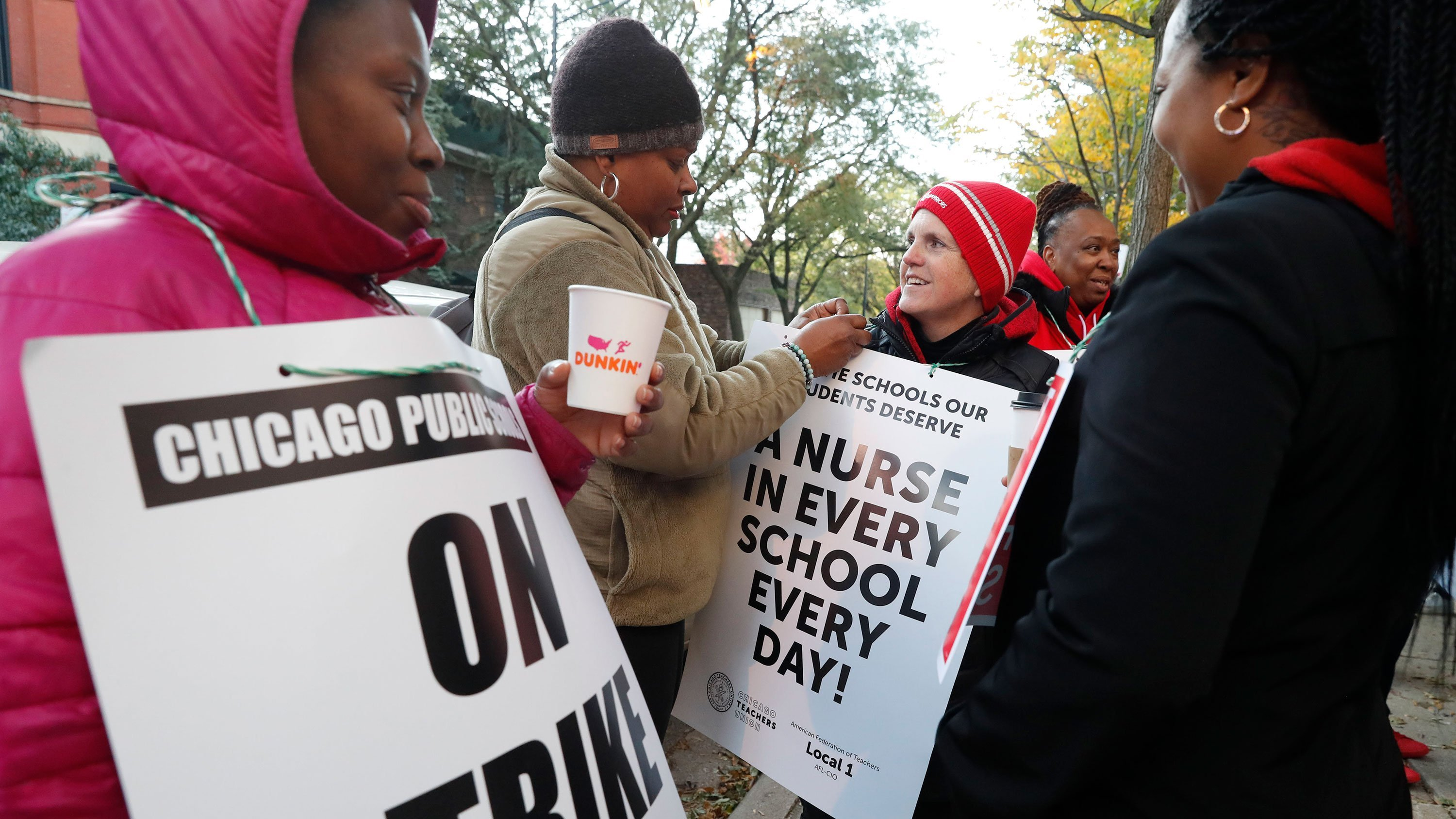 Chicago teachers' strike stretches into second day as negotiations continue