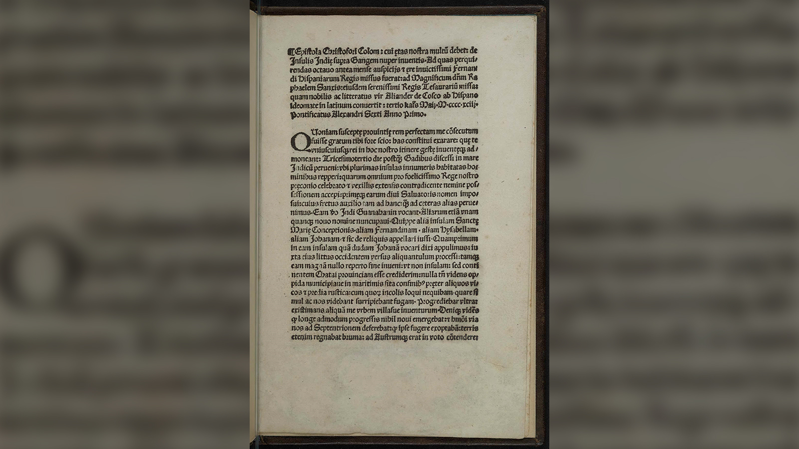 A stolen copy of a rare Christopher Columbus letter has been recovered — and it's not the first time