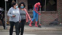 Communities band together to clean up their cities after a night of protests and unrest