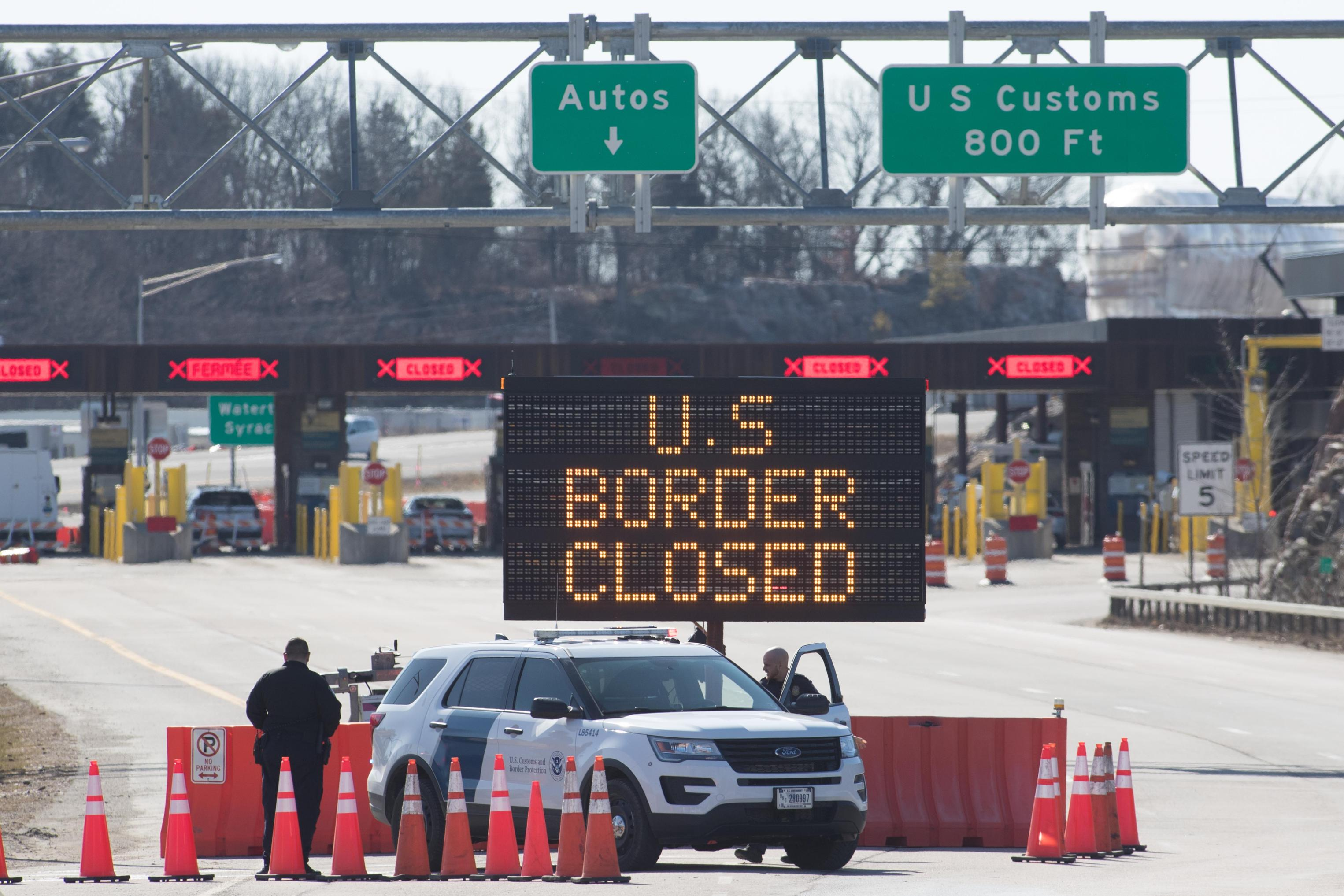 US-Canada border closure to be extended another month, officials say