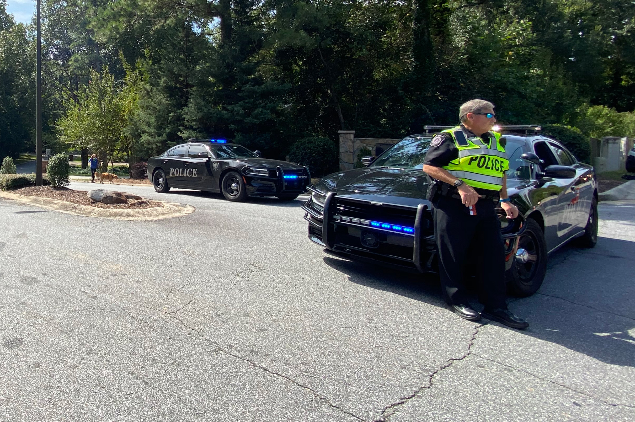 Standoff in suburban Atlanta ends peacefully with barricaded gunman arrested