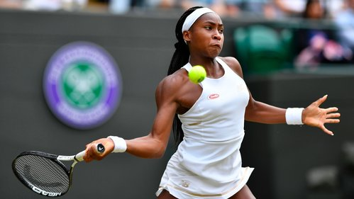 Image for Coco Gauff on her Cinderella run at Wimbledon: 'I'm a fighter, and I'll never give up'
