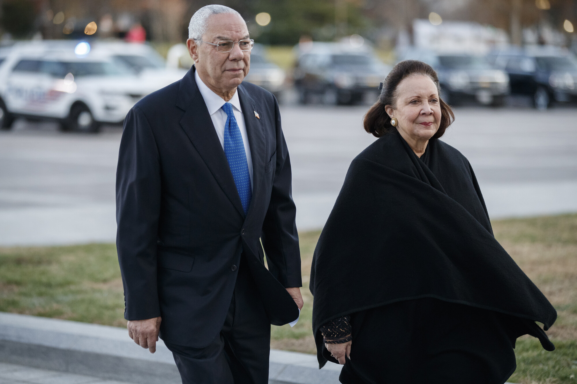 Colin Powell's love story started with an accidental date — and lasted six decades