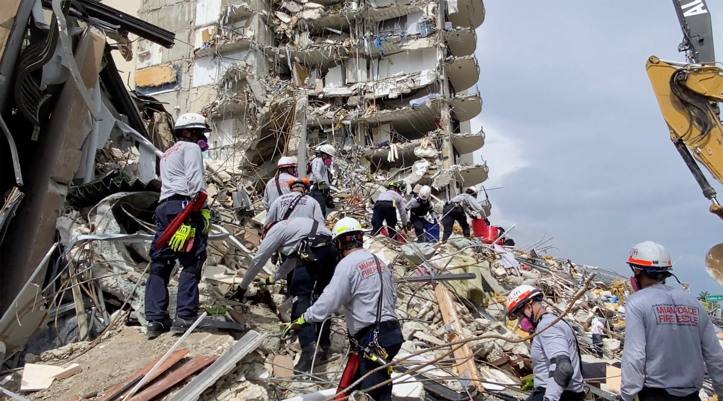 A world-class search and rescue team at the Surfside collapse has responded to disasters including 9/11 and Hurricane Katrina