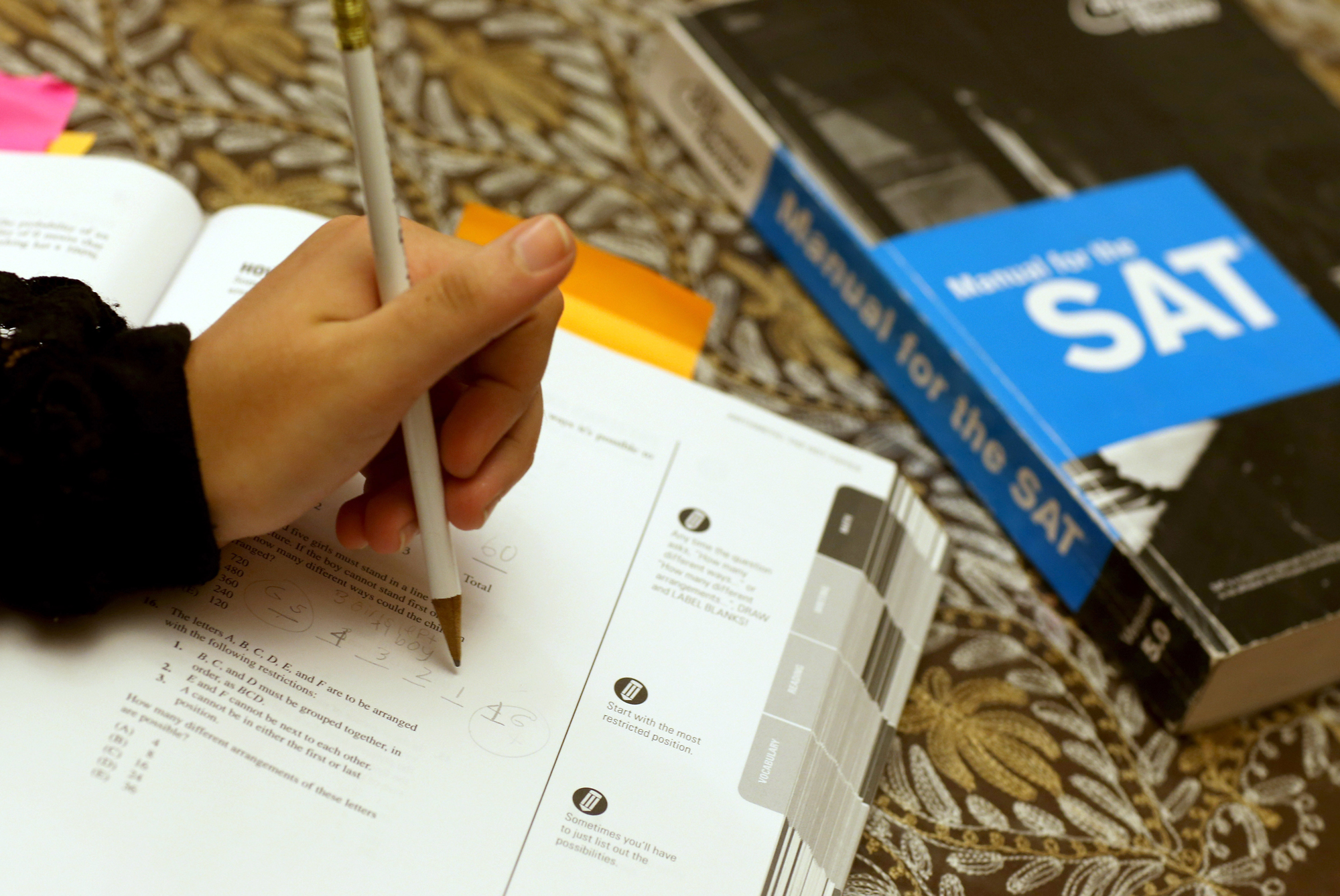 College Board will no longer offer SAT's optional essay and subject tests