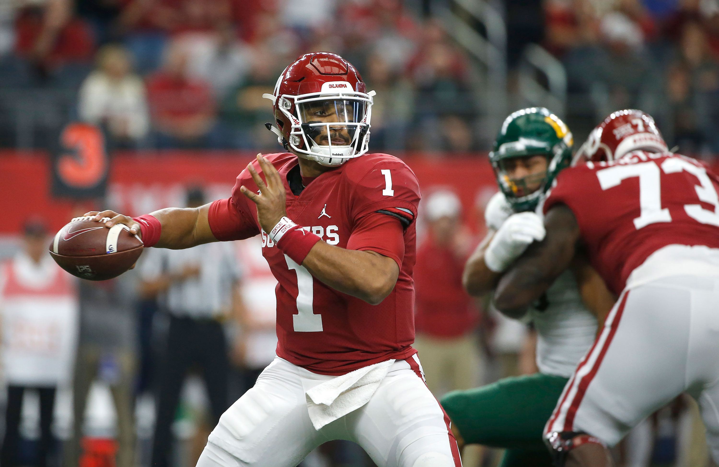 Oklahoma Survives Baylor Keeps College Football Playoff