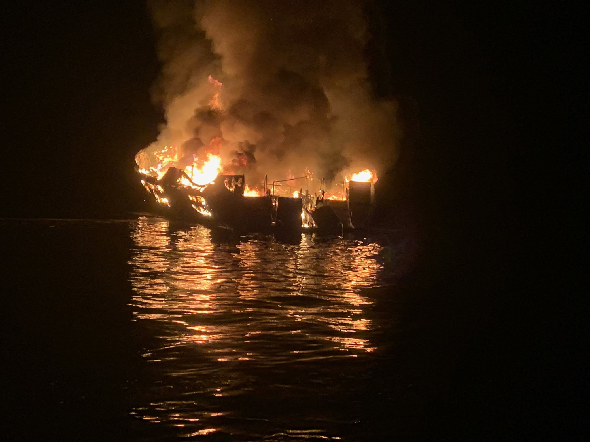 California dive boat captain indicted on multiple counts of manslaughter in connection with fire that left 34 dead