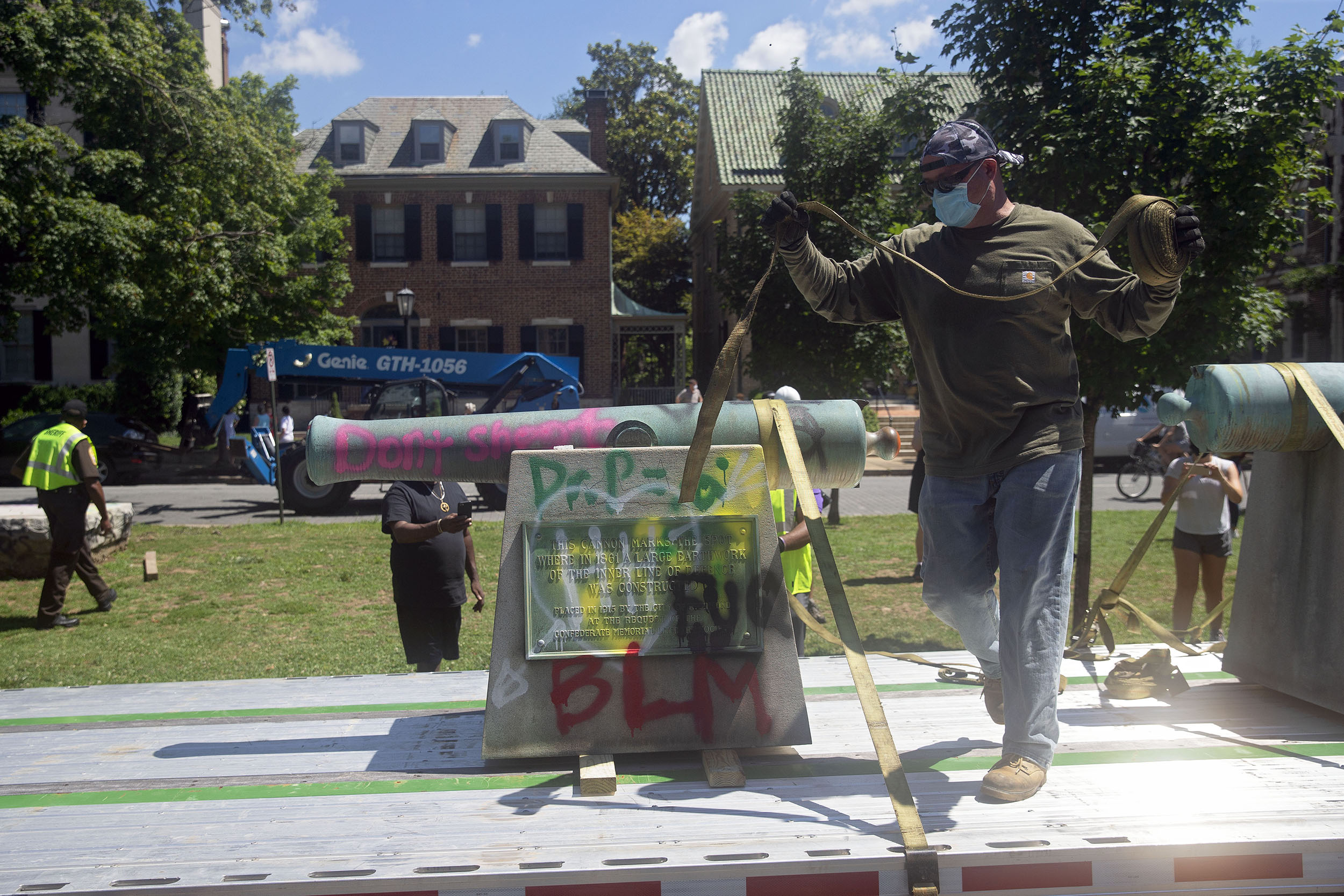 40 Confederate symbols have been removed since the death of George Floyd, SPLC says