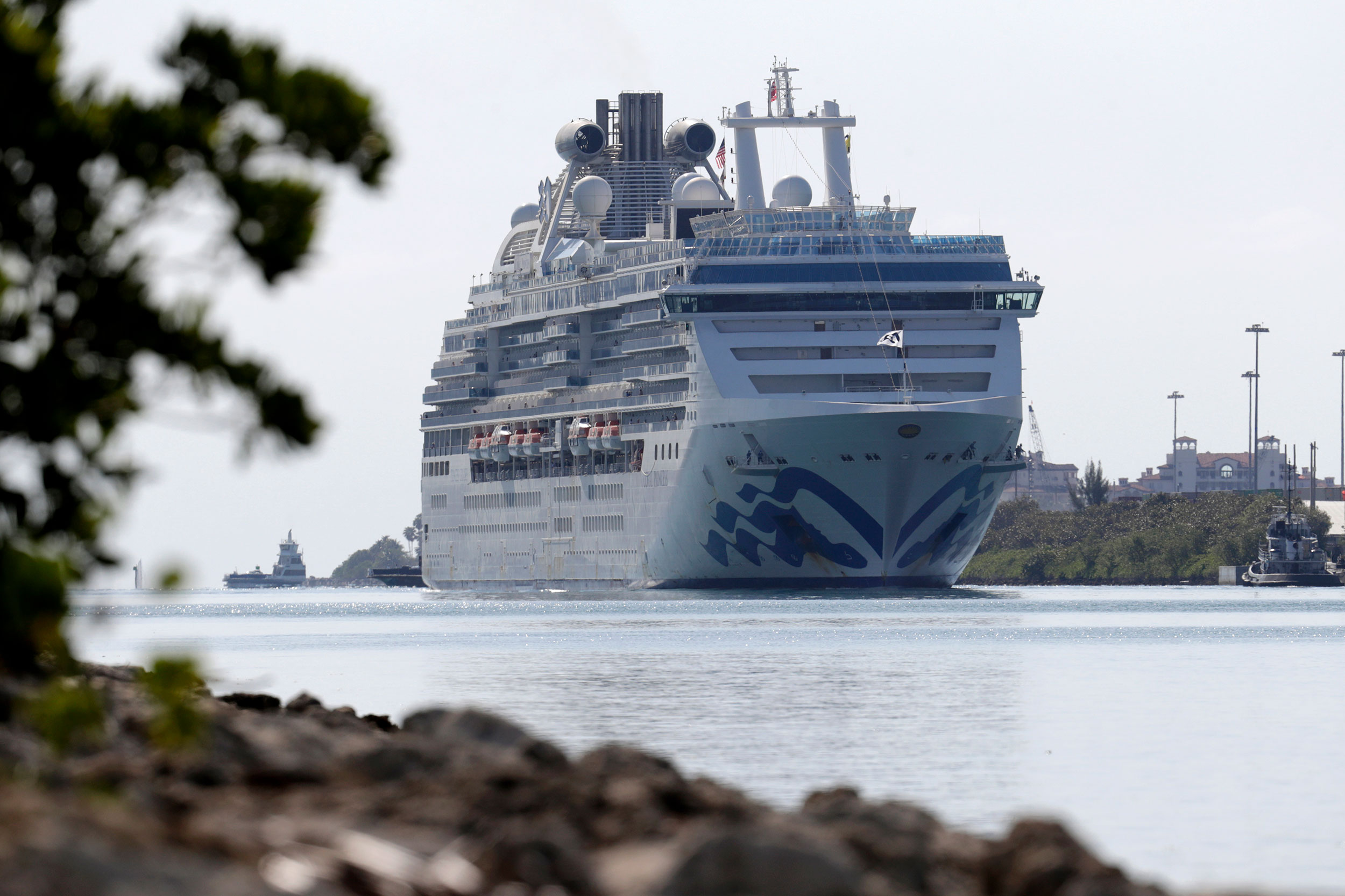 Coral Princess docks in Miami with 2 dead and several ill of coronavirus, after ports shunned it for days