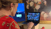 Couples around the world are livestreaming their weddings, creating a sense of 'certainty' at an uncertain time