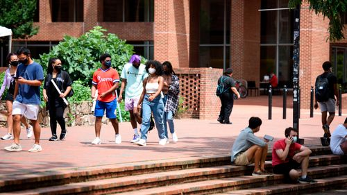 Image for Coronavirus cases surge among college-aged individuals just as universities reopened, studies say