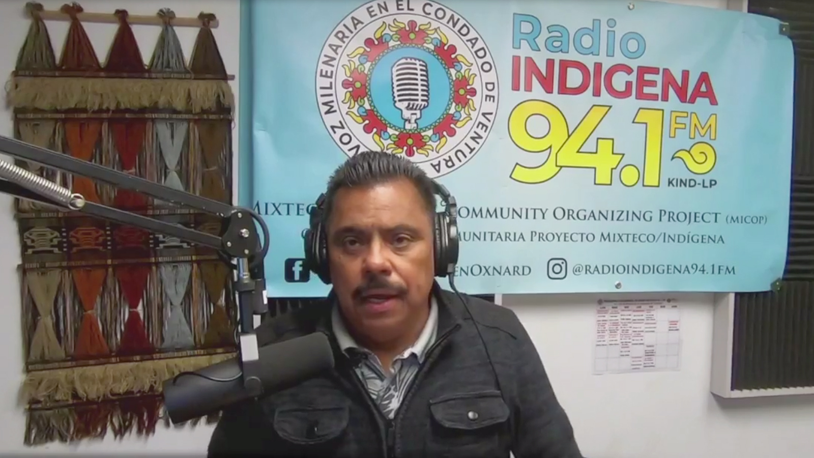 Radio hosts were among the first who could explain Covid to indigenous Mexican farmworkers in US