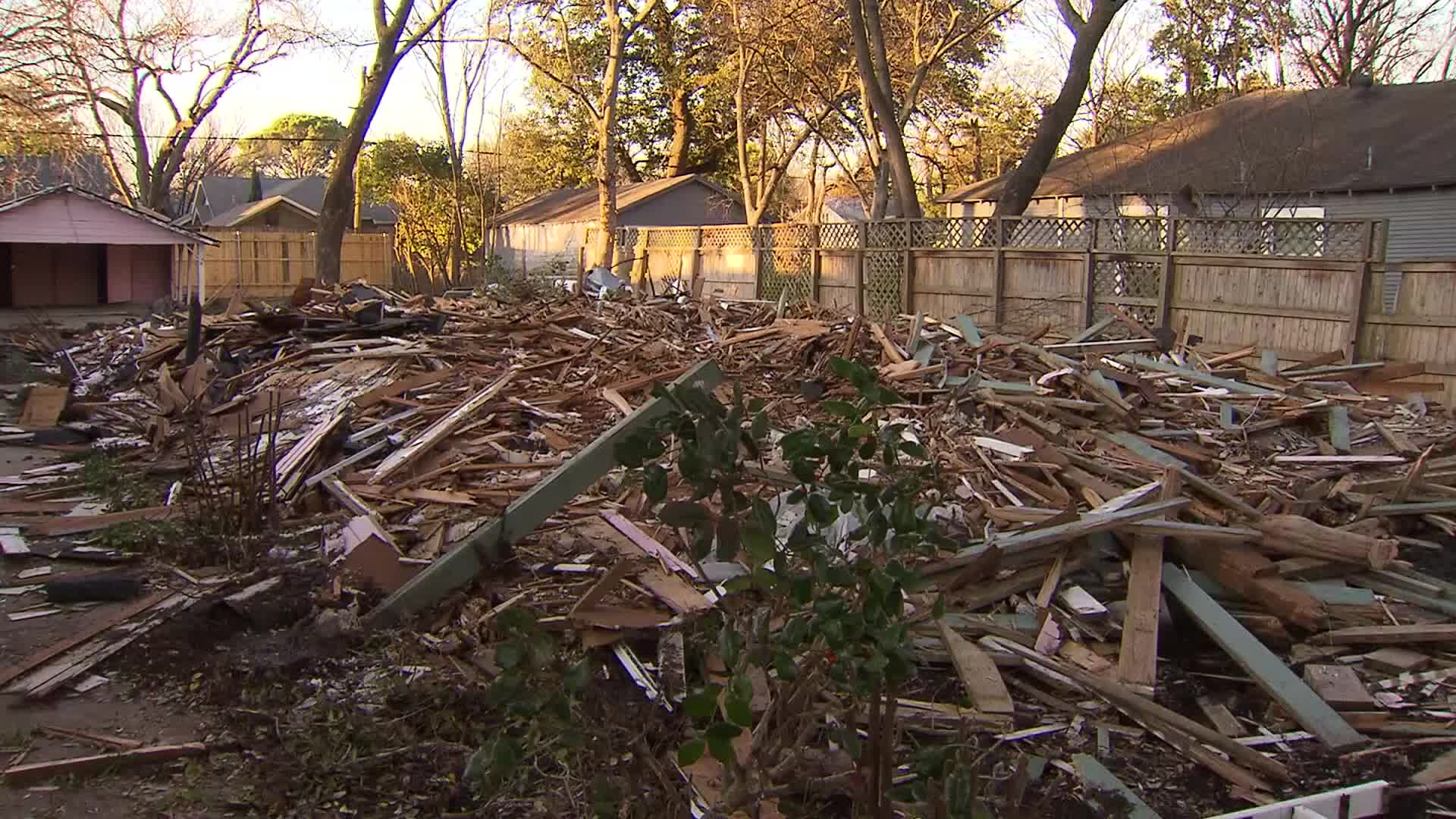 A Texas demolition company accidentally tore down the wrong house