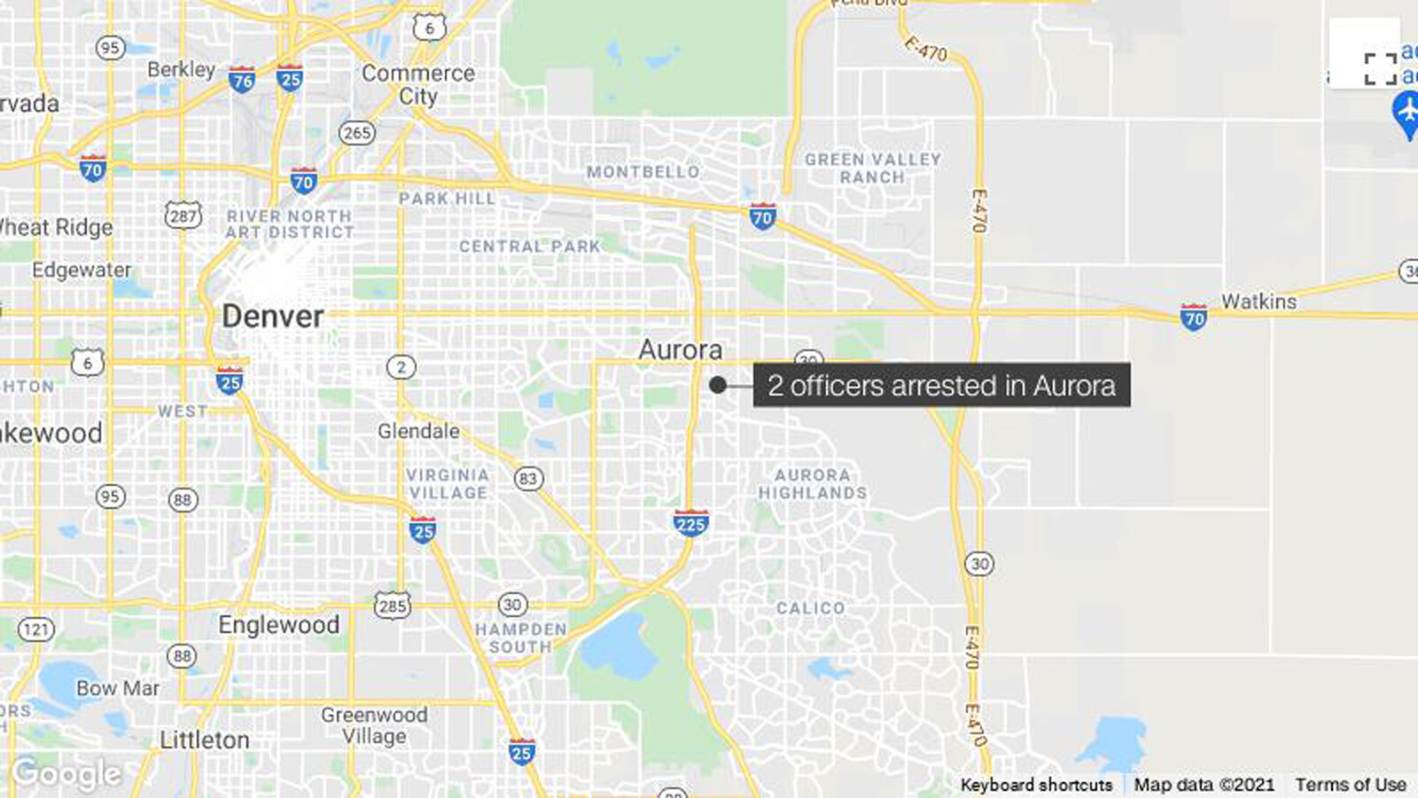 Two Colorado officers arrested in use of force incident police chief calls a 'very despicable act'