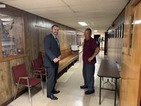 A New Jersey man started out as a custodian. This school year is his first as assistant principal