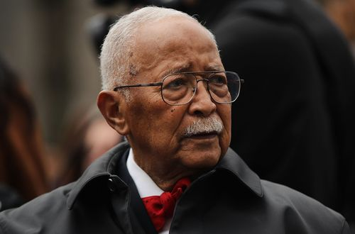 Image for David Dinkins, New York's first Black mayor, dies at 93