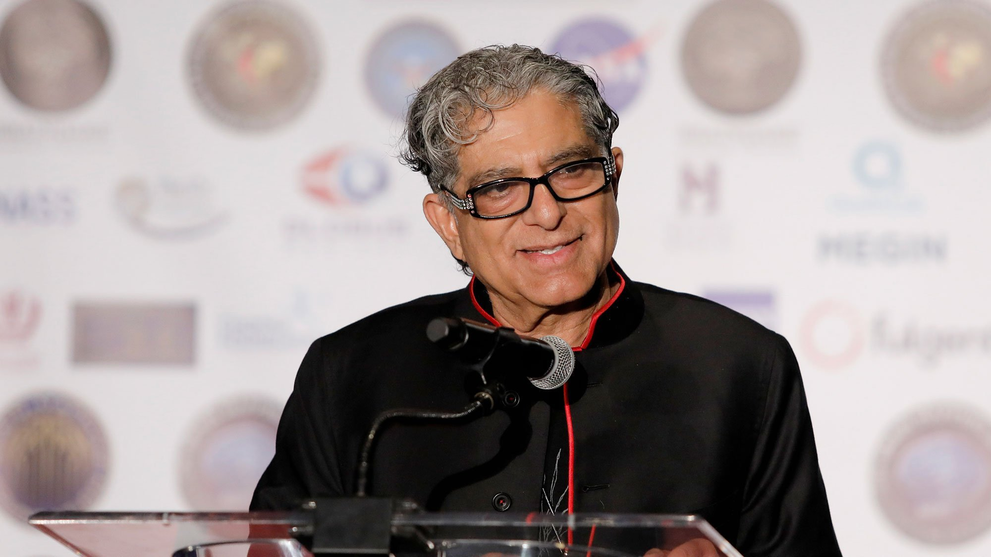 Deepak Chopra's meditation stream crashes as people tune in to the wellness guru