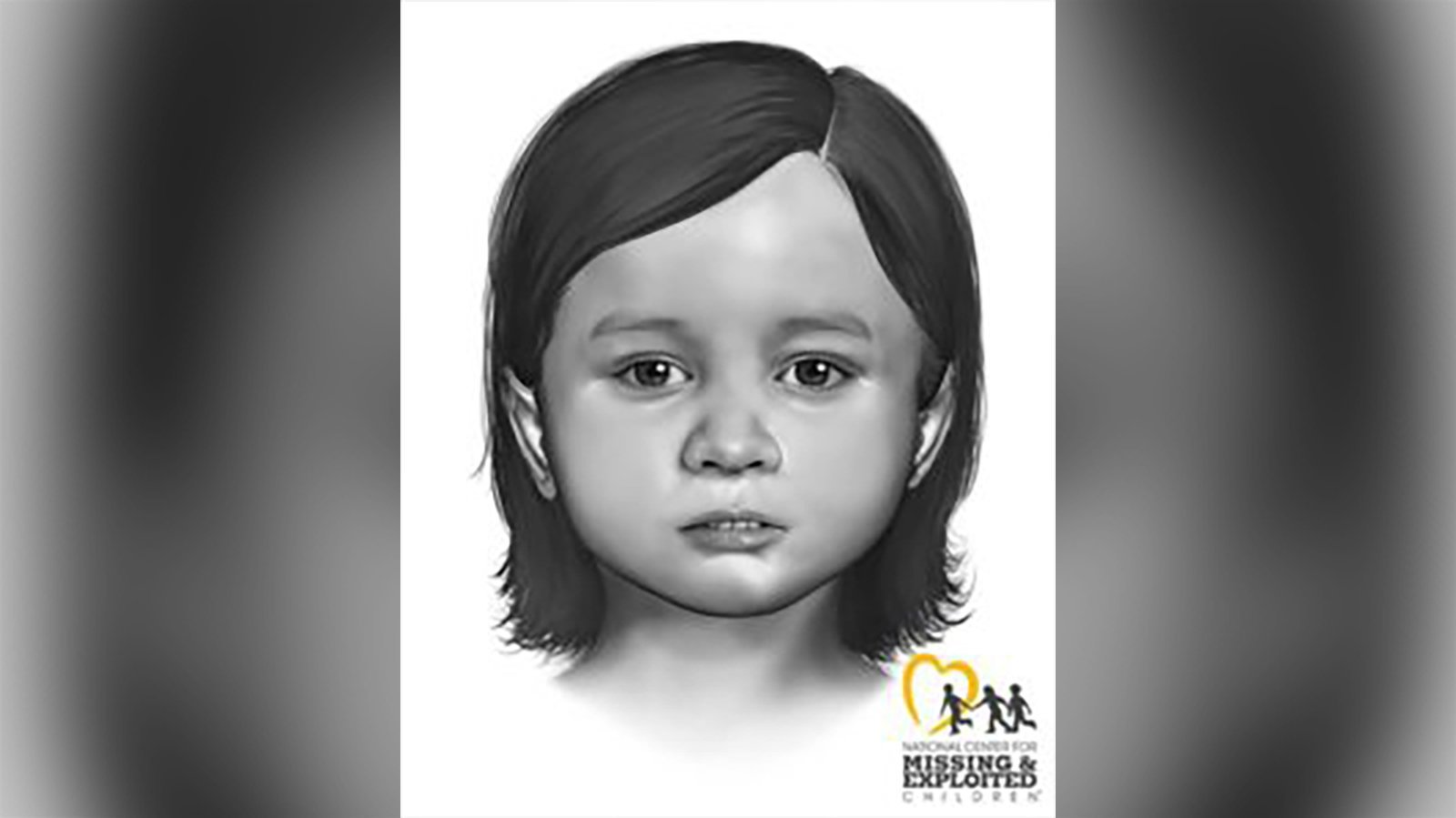 Police release reconstructed images of a young girl's face 2 months after her body was found