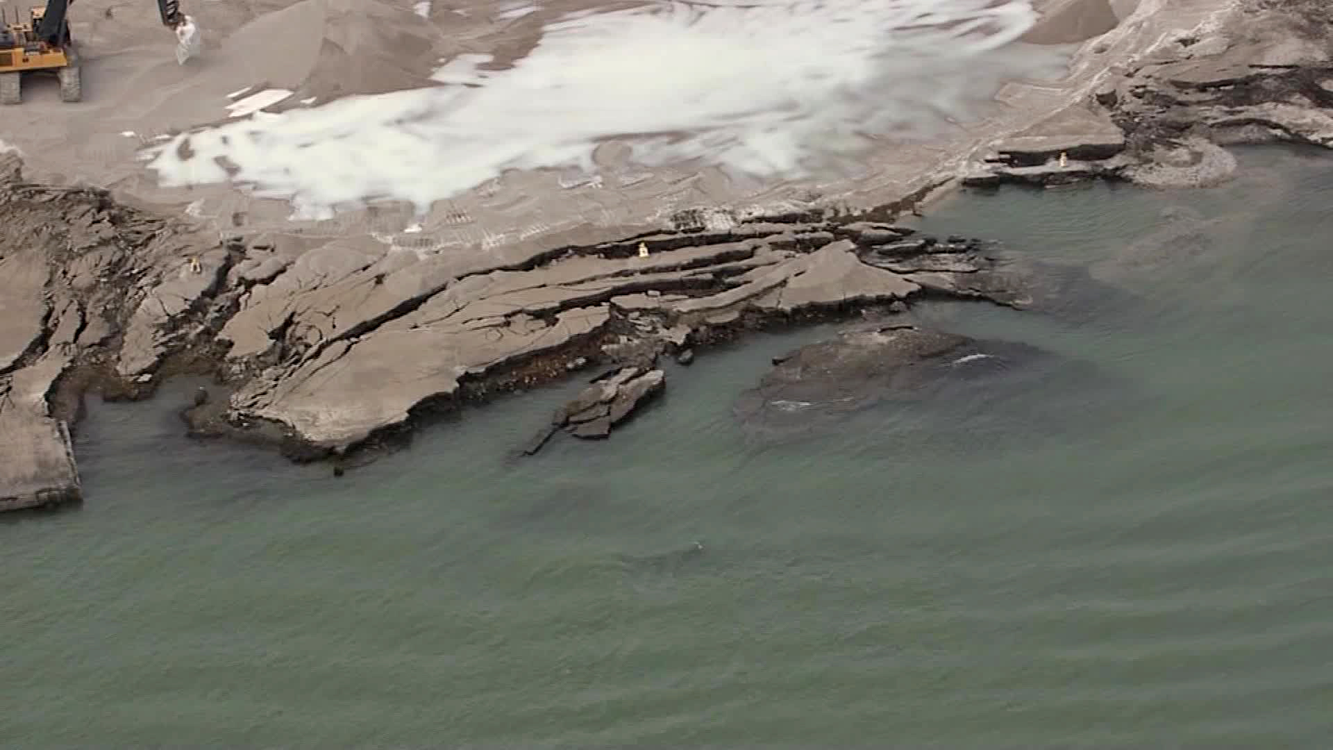 Former radioactive site collapses into Detroit River, raising drinking water safety concerns