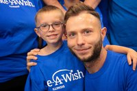 This 7-year-old had a chance to take a trip to Disney World. Instead, he chose to meet his bone marrow donor