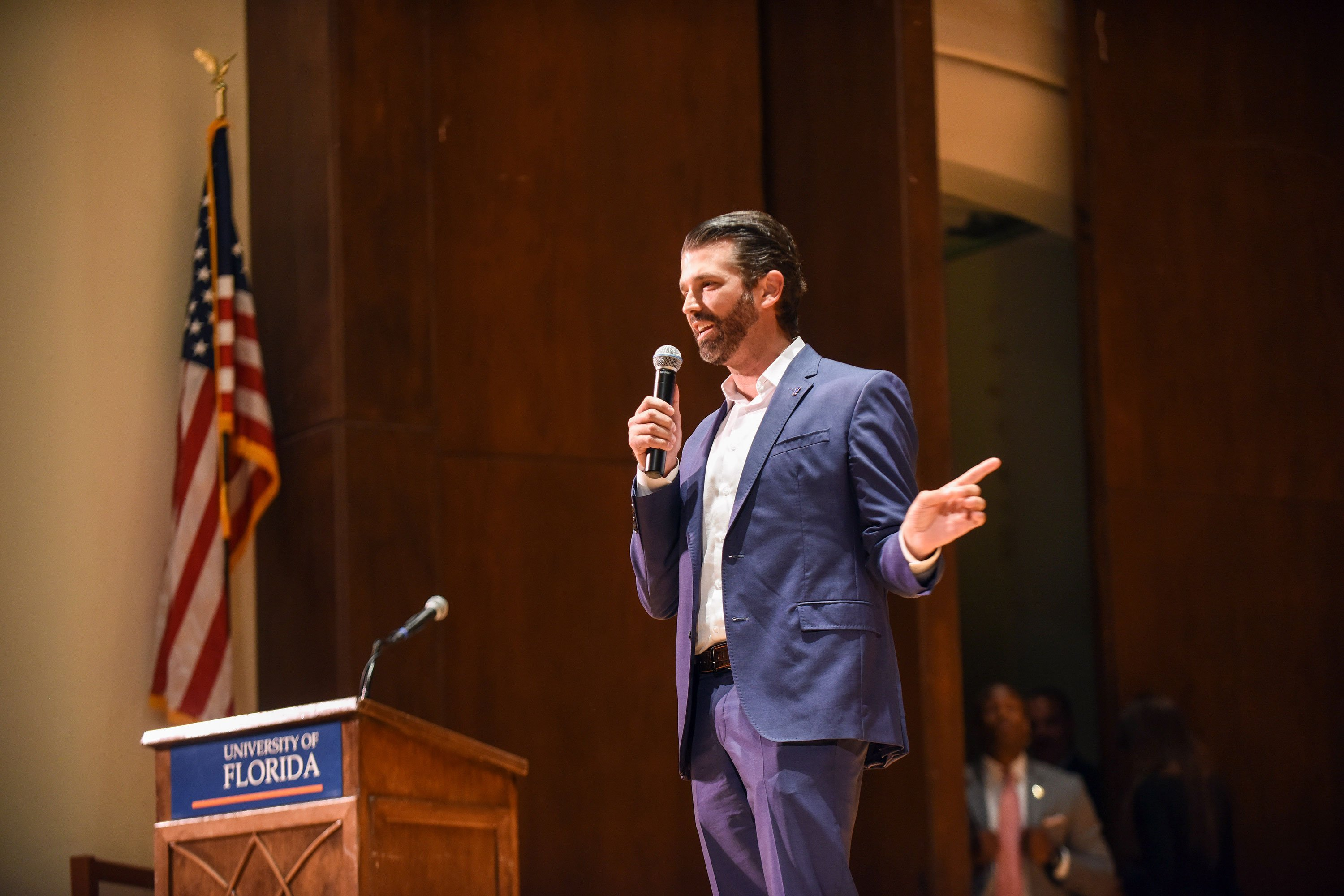 University of Florida student president is being impeached over a Donald Trump Jr. speech