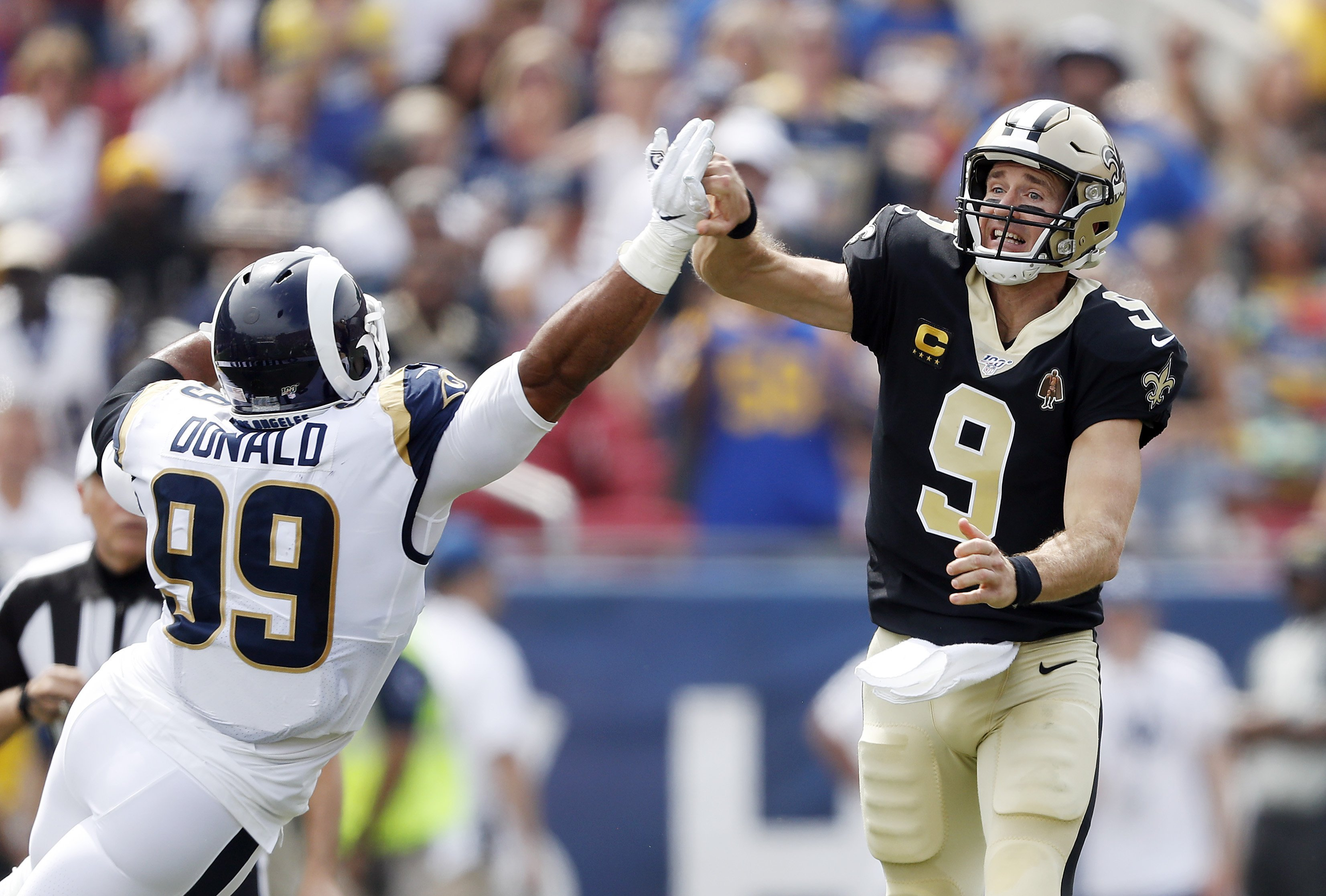 Drew Brees is having surgery on his injured right hand