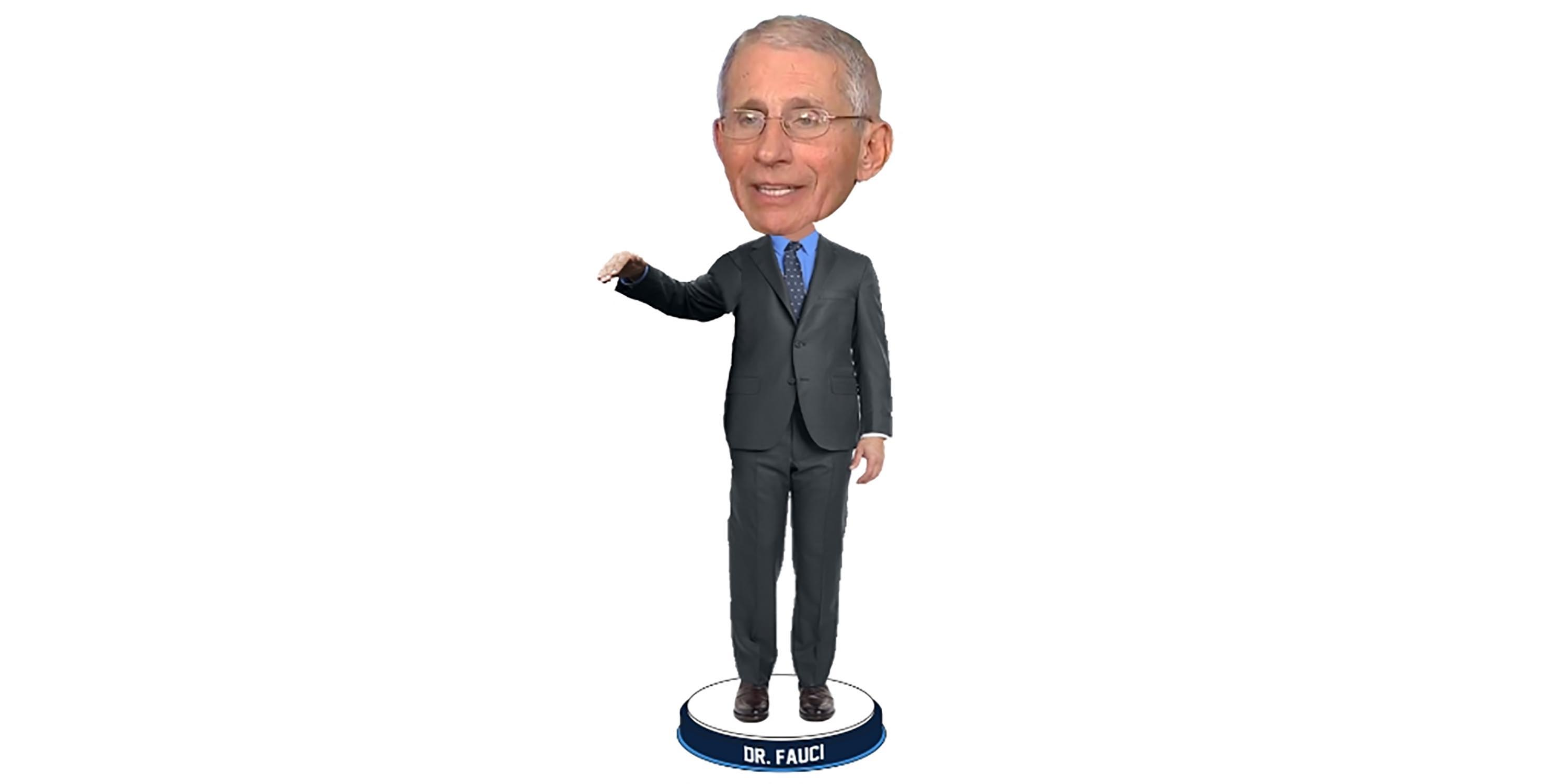 A bobblehead of Dr. Fauci will help pay to produce masks for health workers
