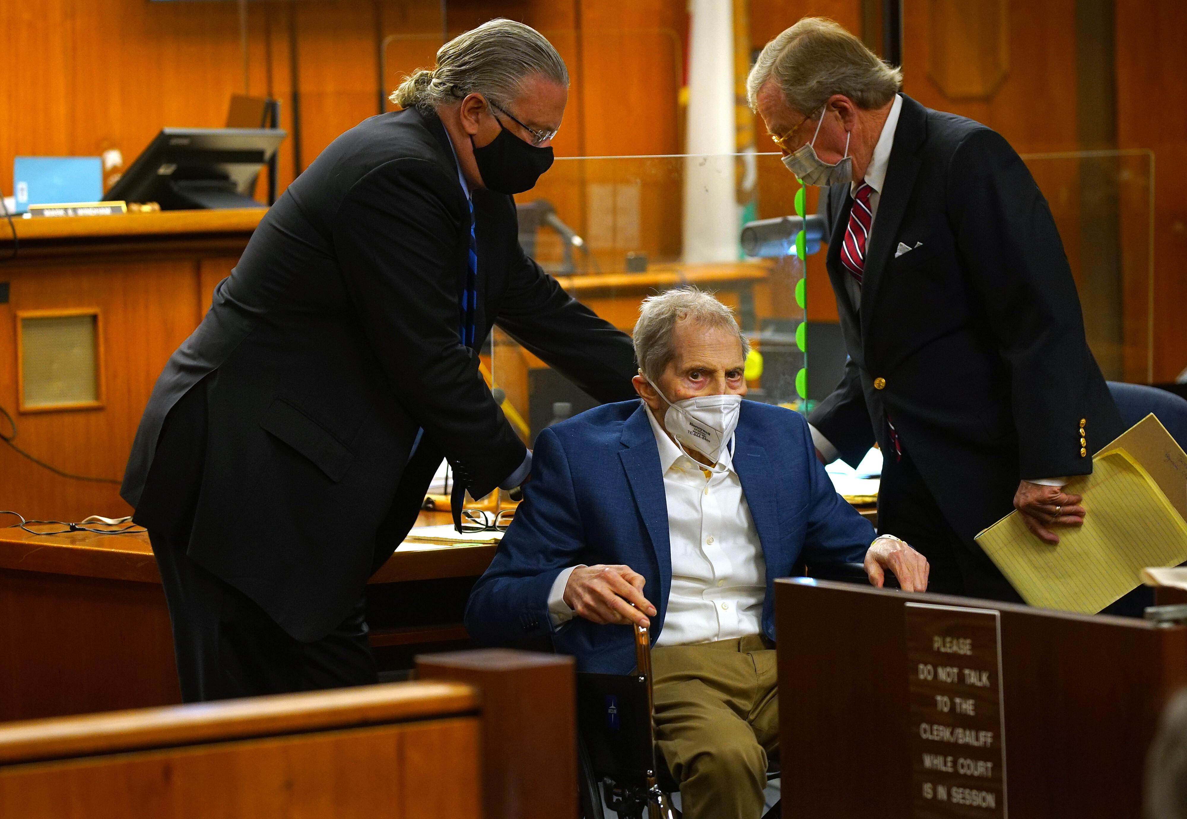 Murder trial of real estate tycoon Robert Durst in hands of Los Angeles jury