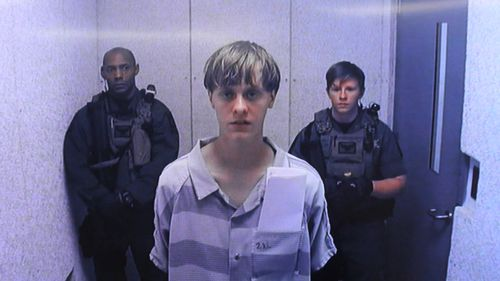 Image for Dylann Roof's appeal in his 2015 church massacre conviction focuses on killer's competency to stand trial