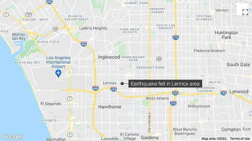 Image for 4.0 magnitude earthquake rattles Los Angeles area