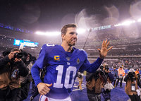 Eli Manning announces retirement from the NFL in an emotional press conference