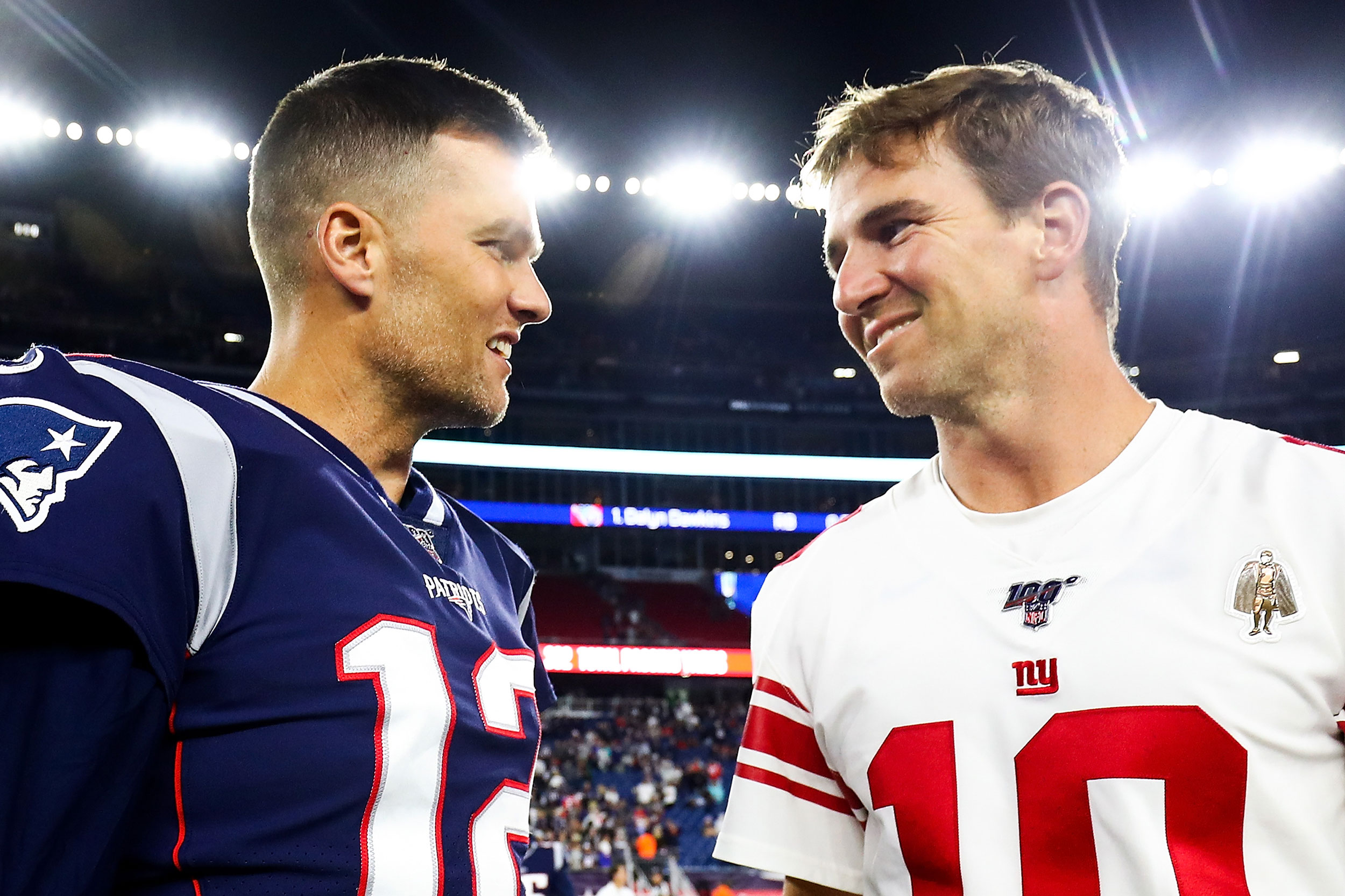 Eli Manning joined Twitter, and was immediately made fun of by Tom Brady
