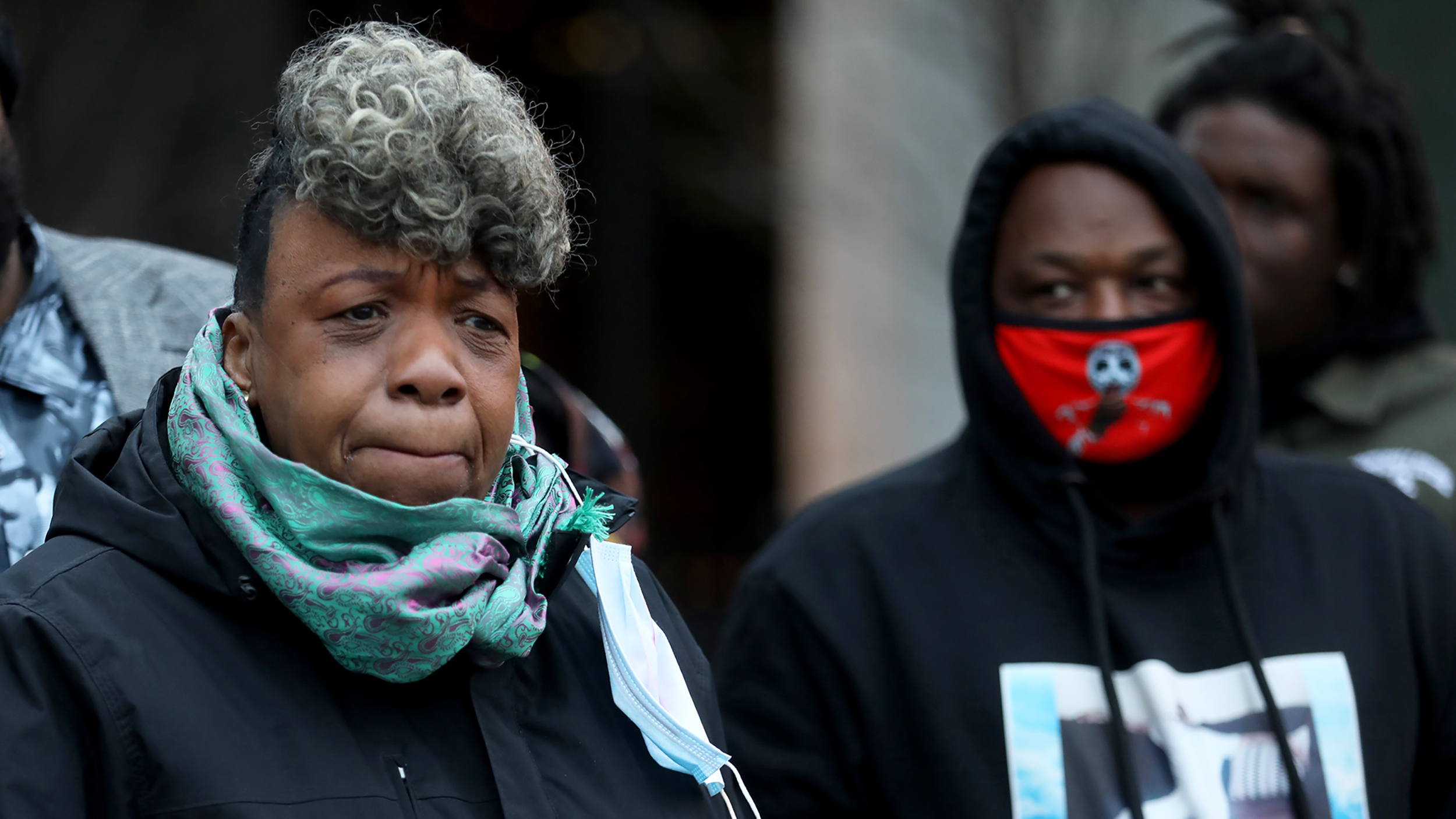 Eric Garner's mother says Caron Nazario, who was pepper-sprayed in a Virginia traffic stop, is part of her family