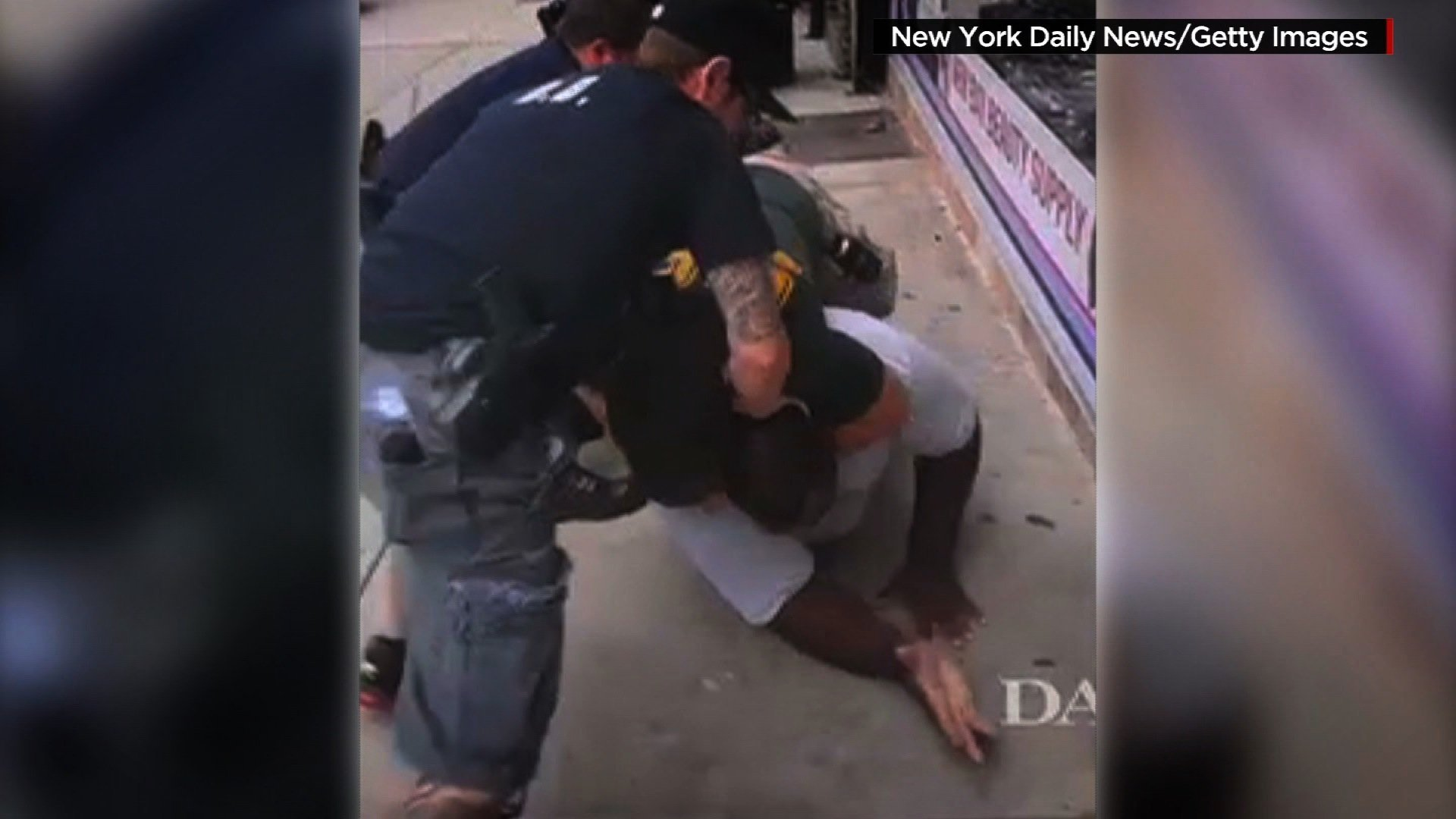 Prosecutors say they could not prove NYPD officer acted willfully in Eric Garner's death