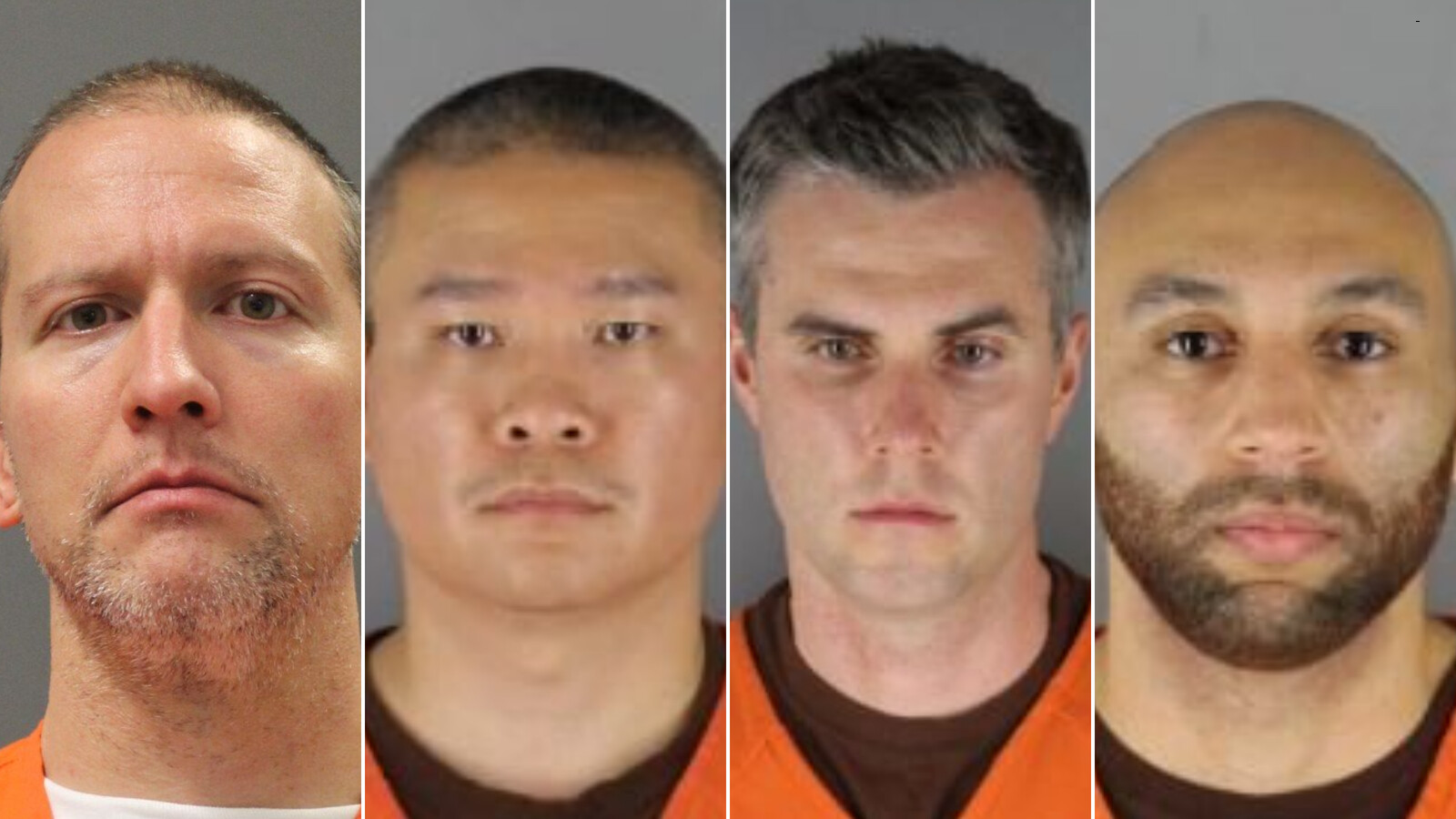 Ex-Minneapolis police officers charged with violating George Floyd's civil rights plead not guilty