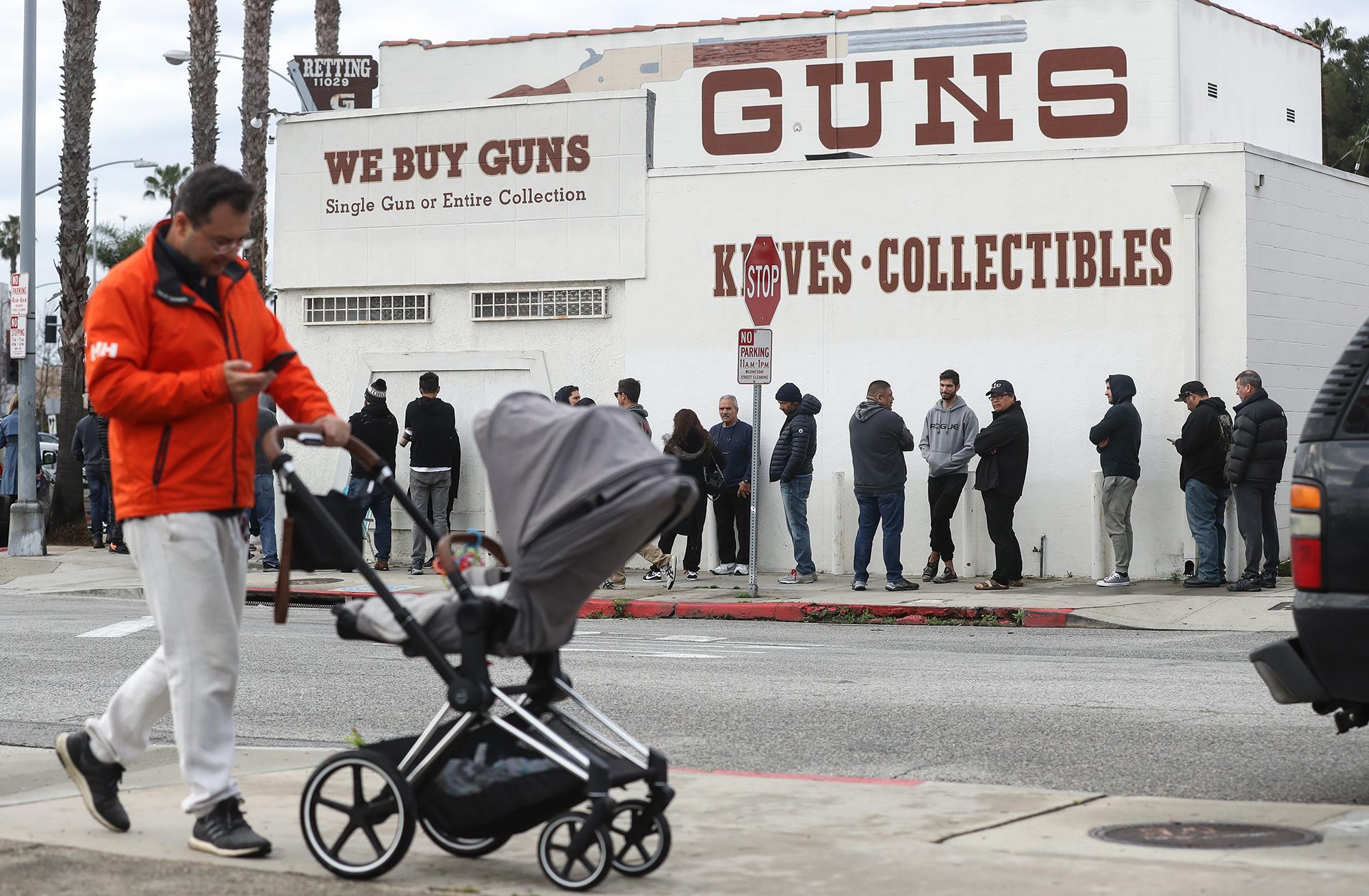 FBI sees spike in gun sale background checks amid coronavirus pandemic