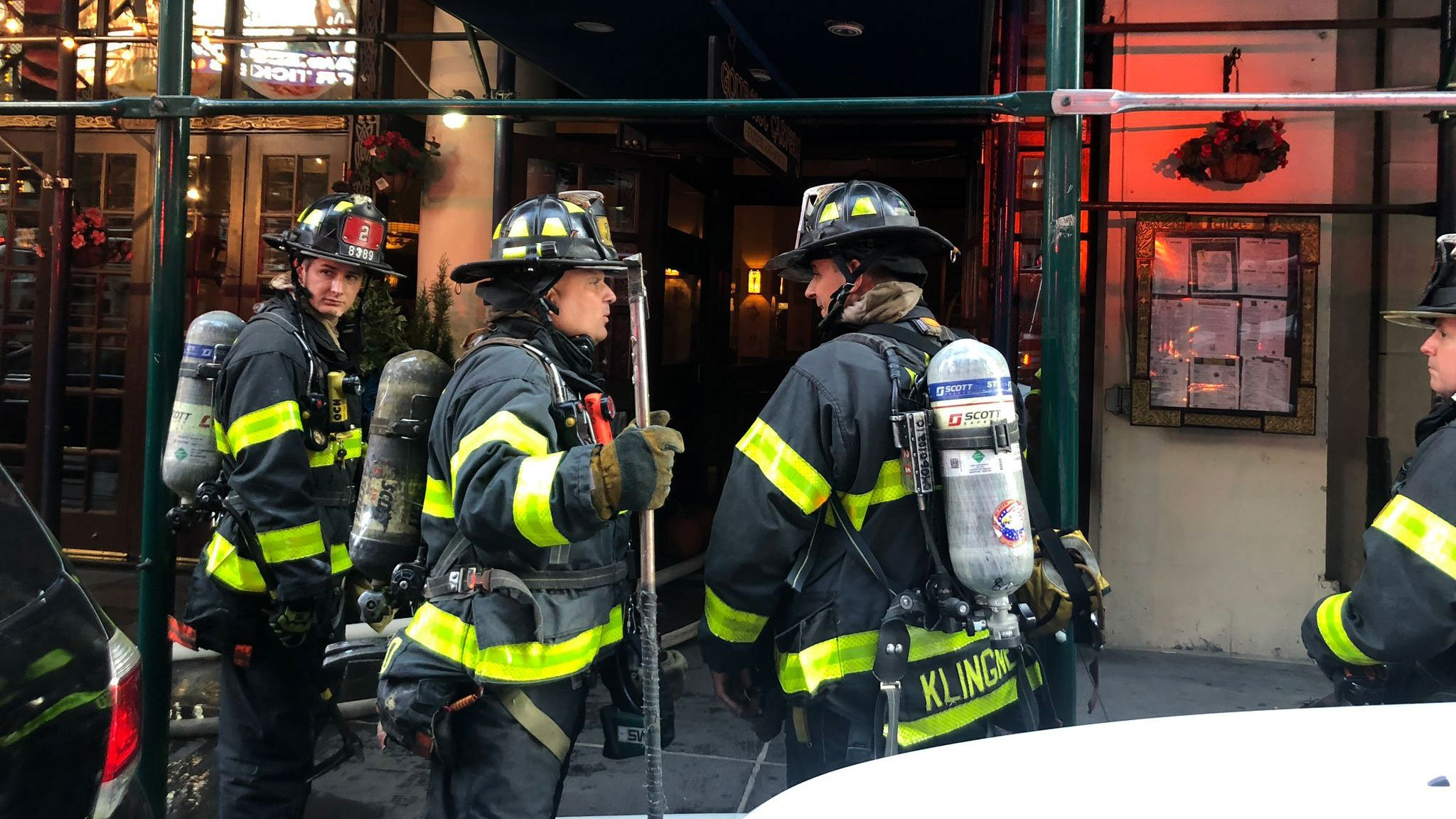 FDNY says 3 injured in fire near New York City's Times Square