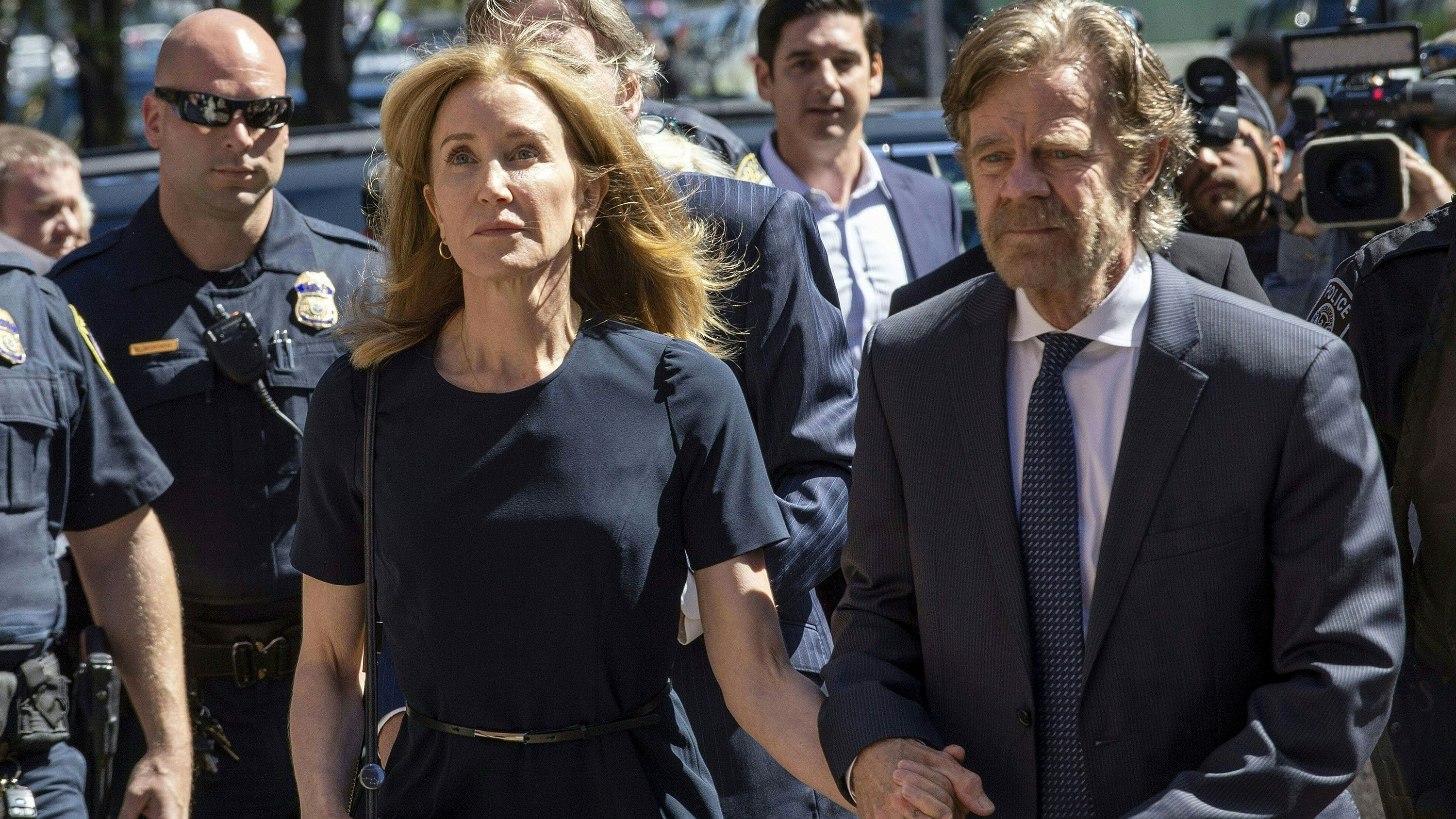 Here's what Felicity Huffman said at her sentencing