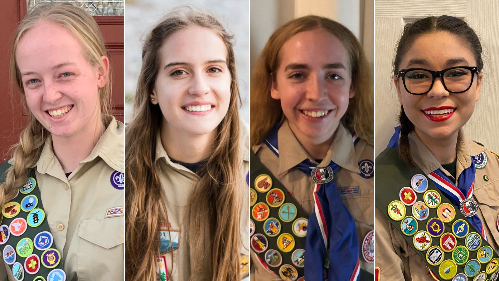 For the first time, girls were eligible to be Eagle Scouts — and nearly 1,000 earned the elite rank