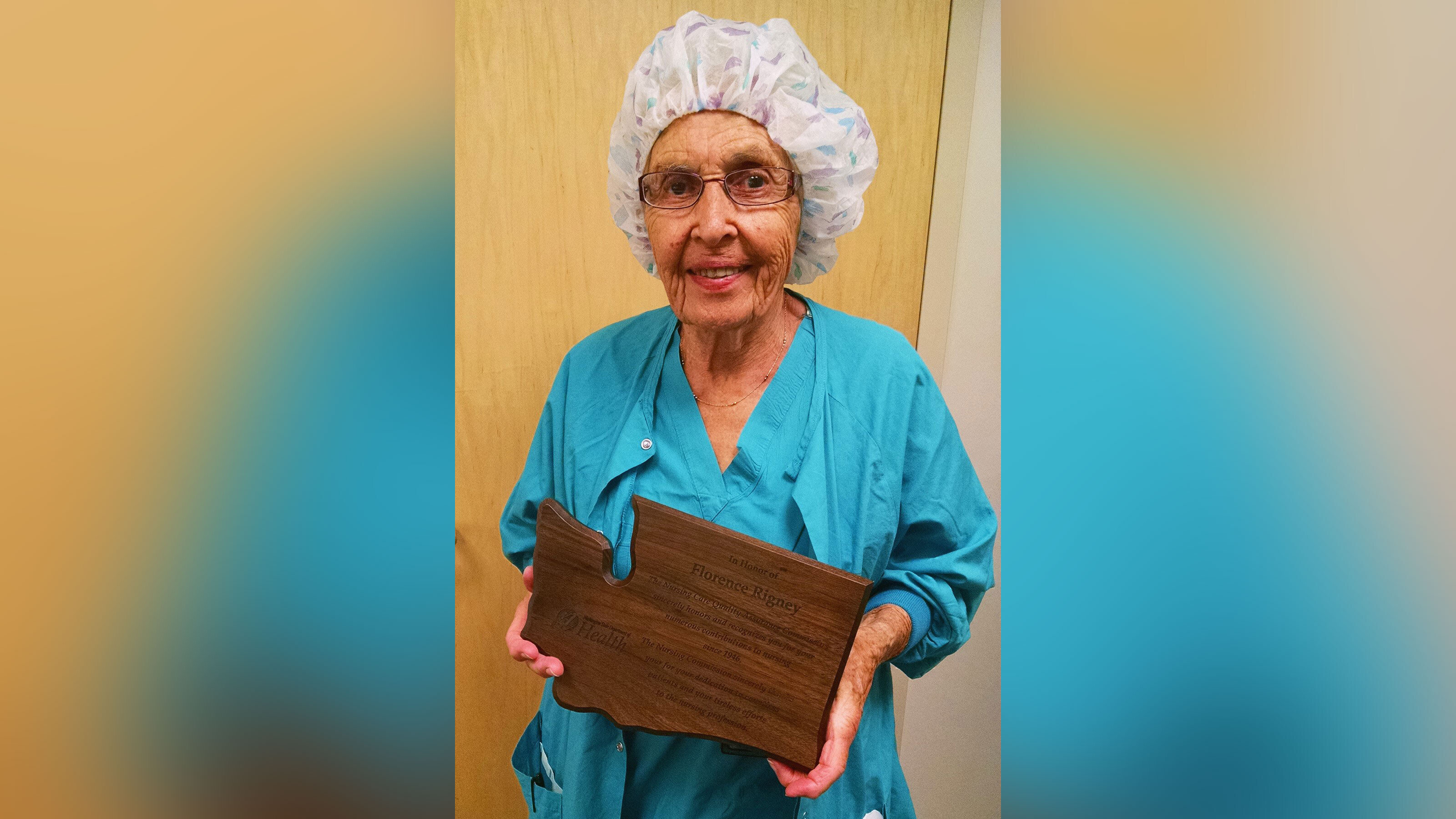 Florence 'SeeSee' Rigney, said to be America's oldest working nurse, retires at the age of 96
