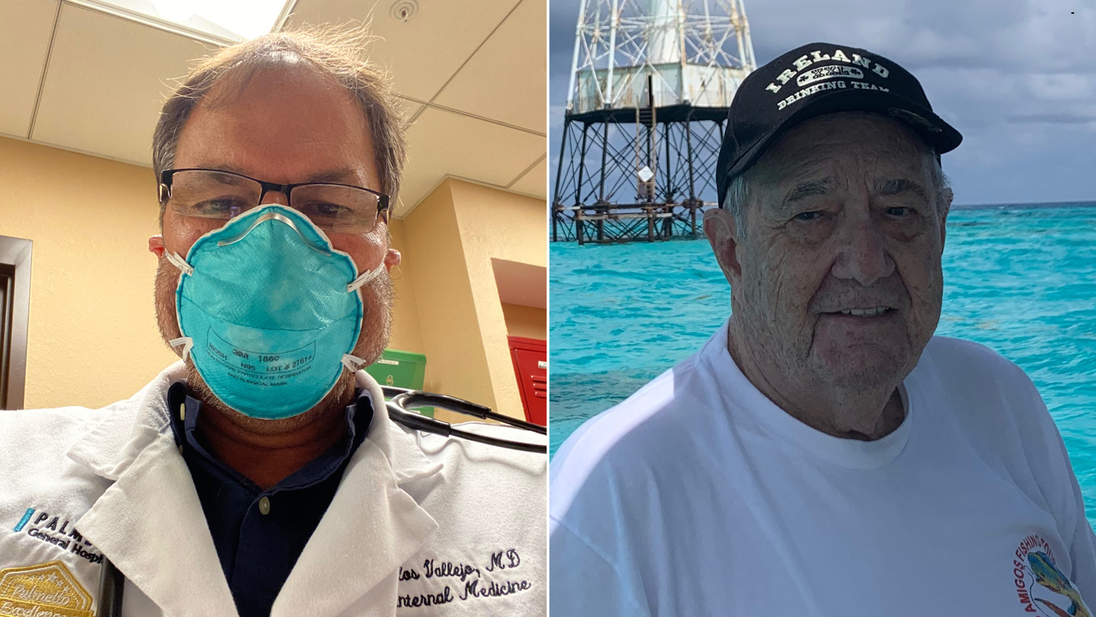 Father and son doctors die of coronavirus weeks apart after being hospitalized on Father's Day