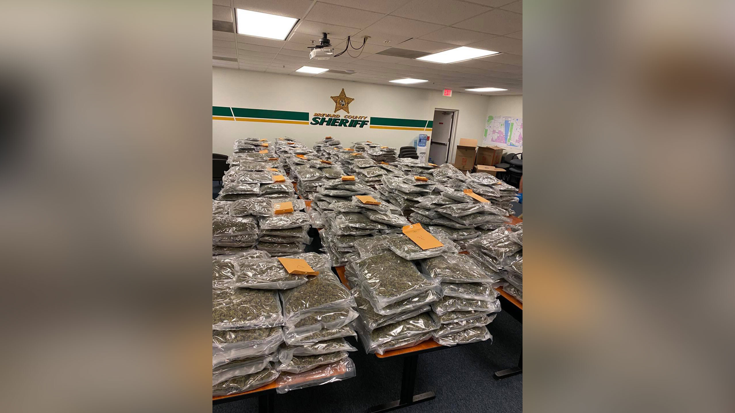$2 million worth of marijuana was found in a Florida storage facility, and the sheriff's office wrote a Facebook post looking for the rightful owner
