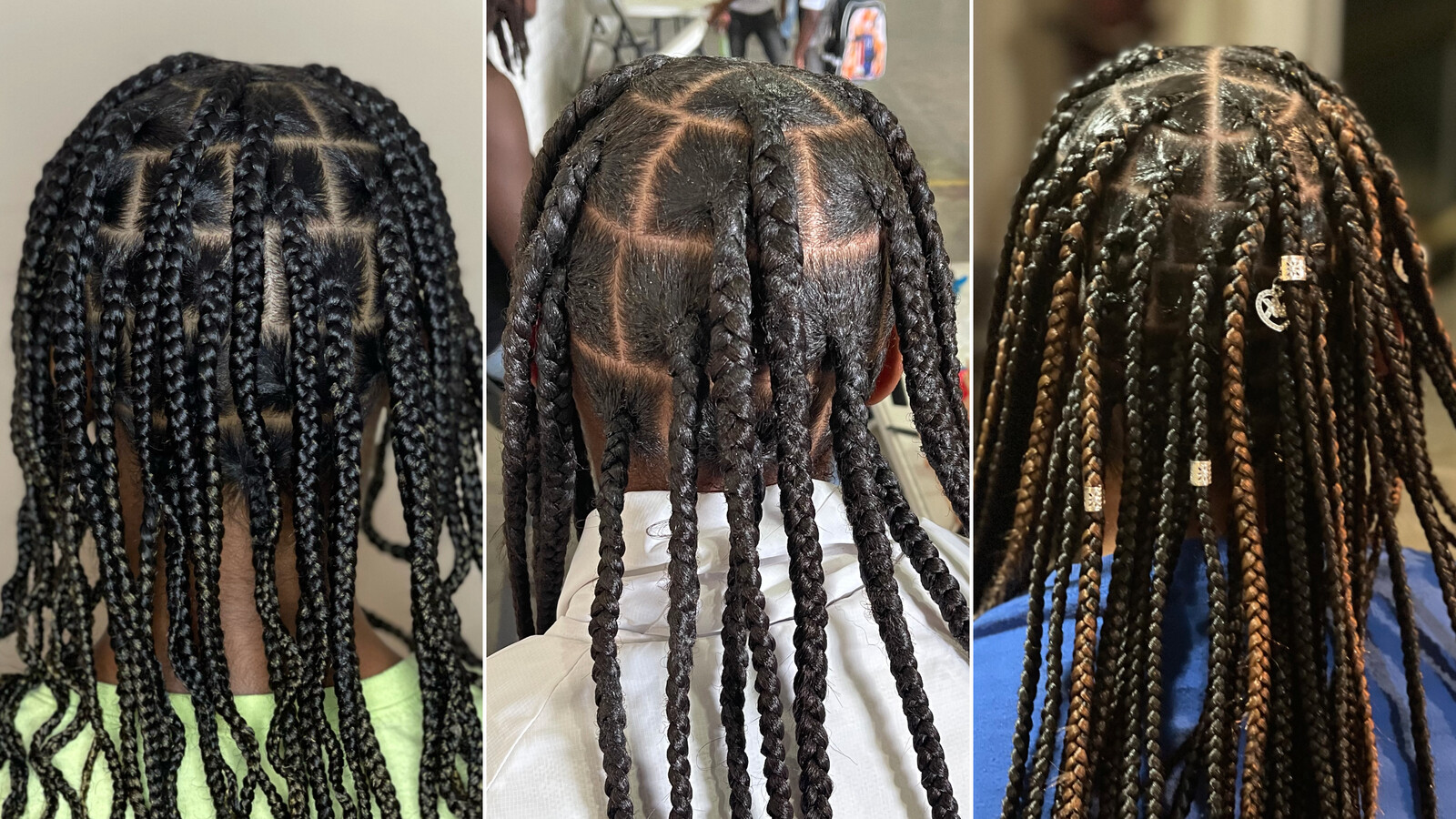 This single mom is braiding kids' hair for free to help other struggling parents