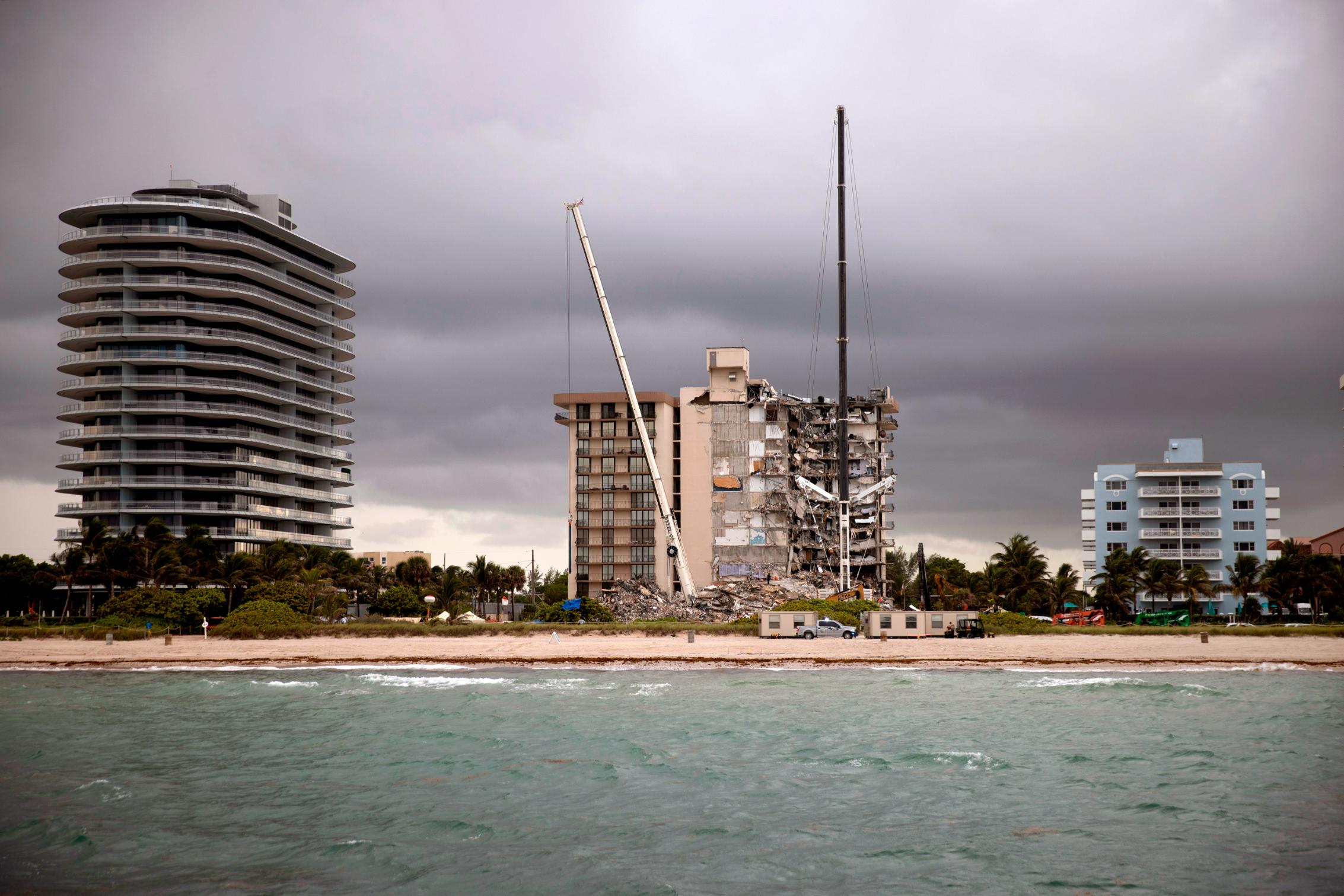 'Shaking all the time:' Surfside condo owners complained of luxury tower being built next door