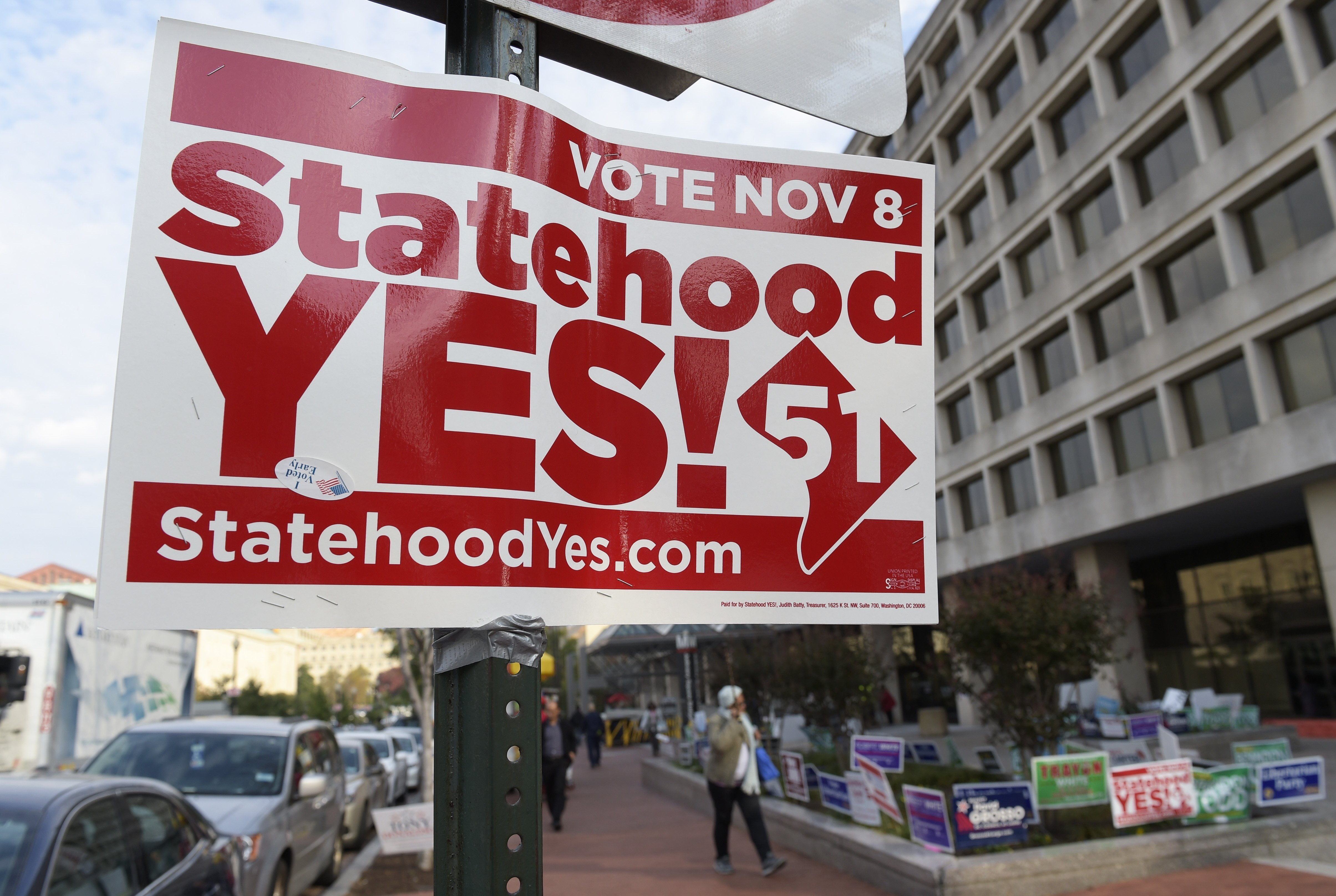 Nearly two-thirds of Americans oppose D.C. statehood, a Gallup poll finds