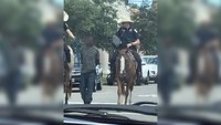 2 mounted officers in controversial arrest of black man in Texas will not face a criminal investigation