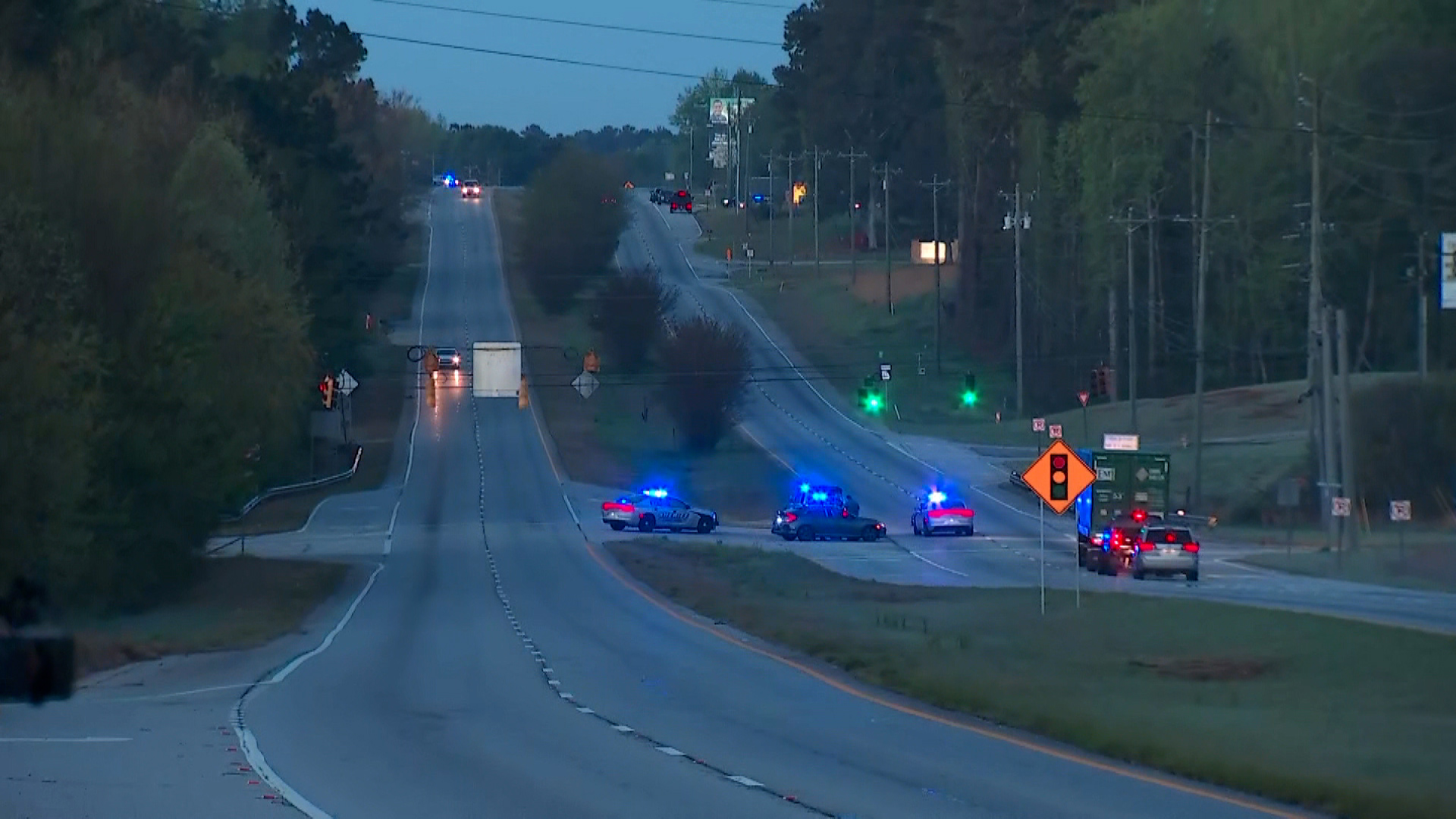 Suspect killed, 3 officers injured during police chase in Georgia