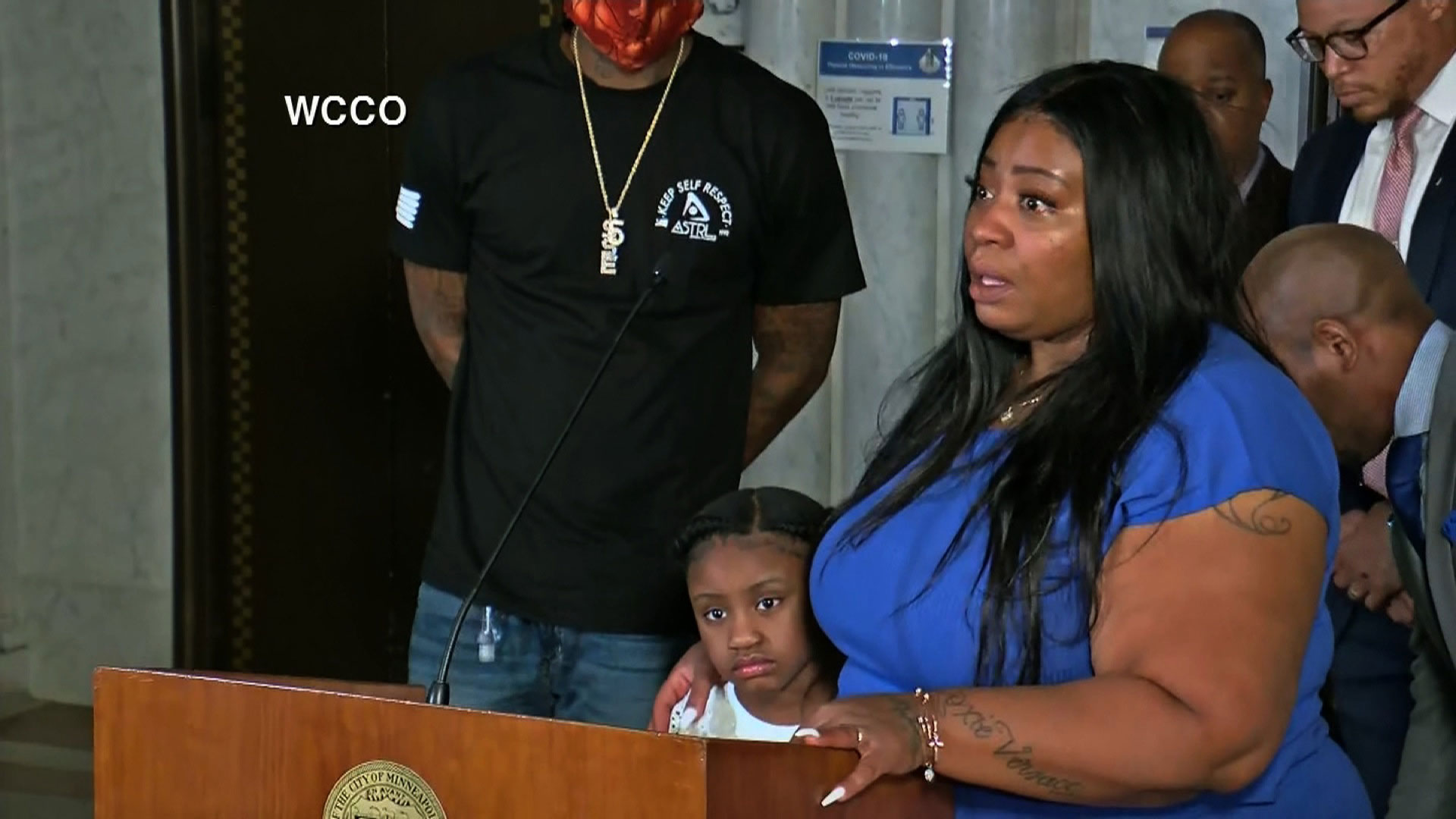 Mother of George Floyd's daughter says she wants justice for him